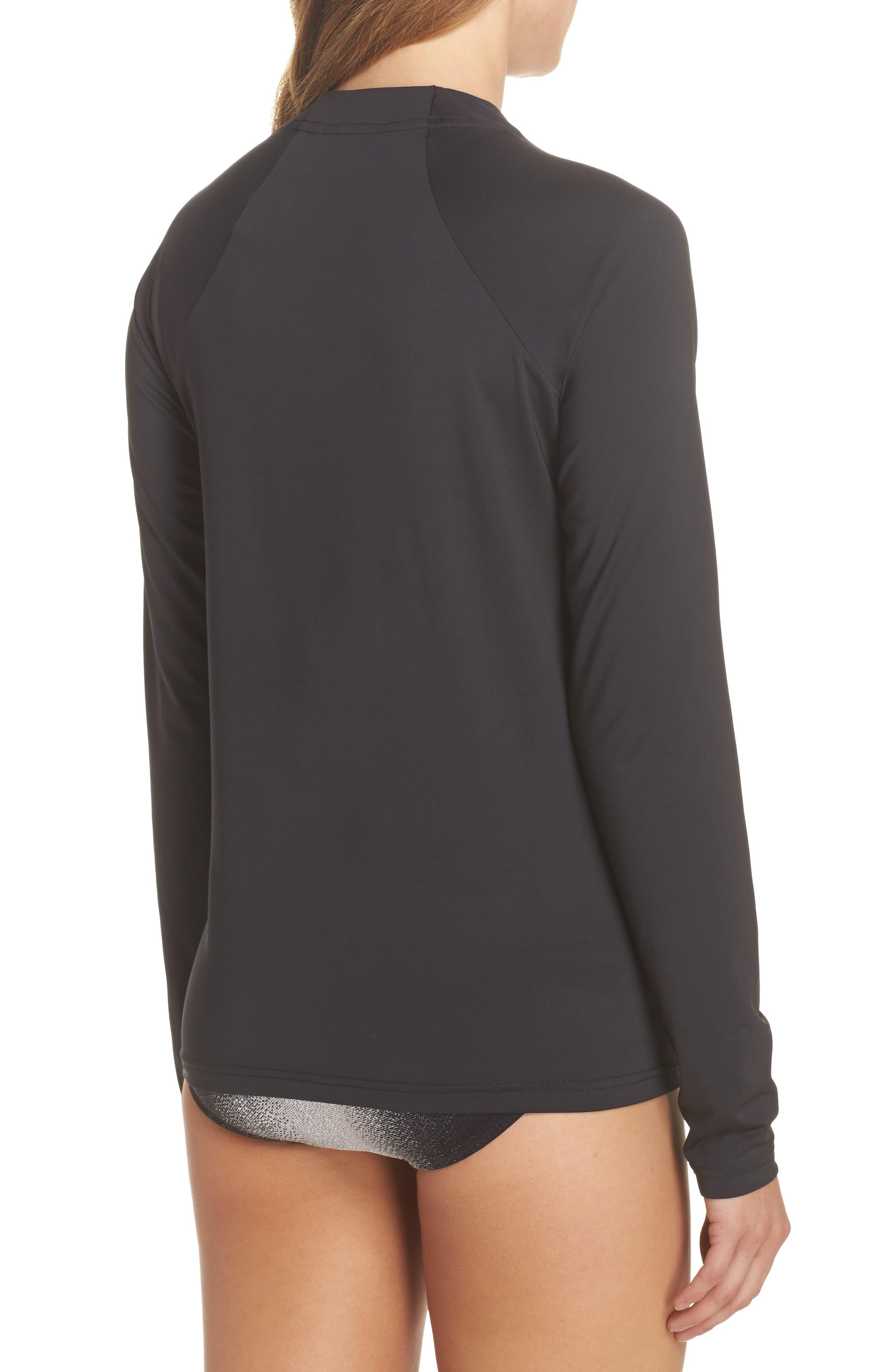 Hydroguard Surf Shirt,                             Alternate thumbnail 2, color,                             Black