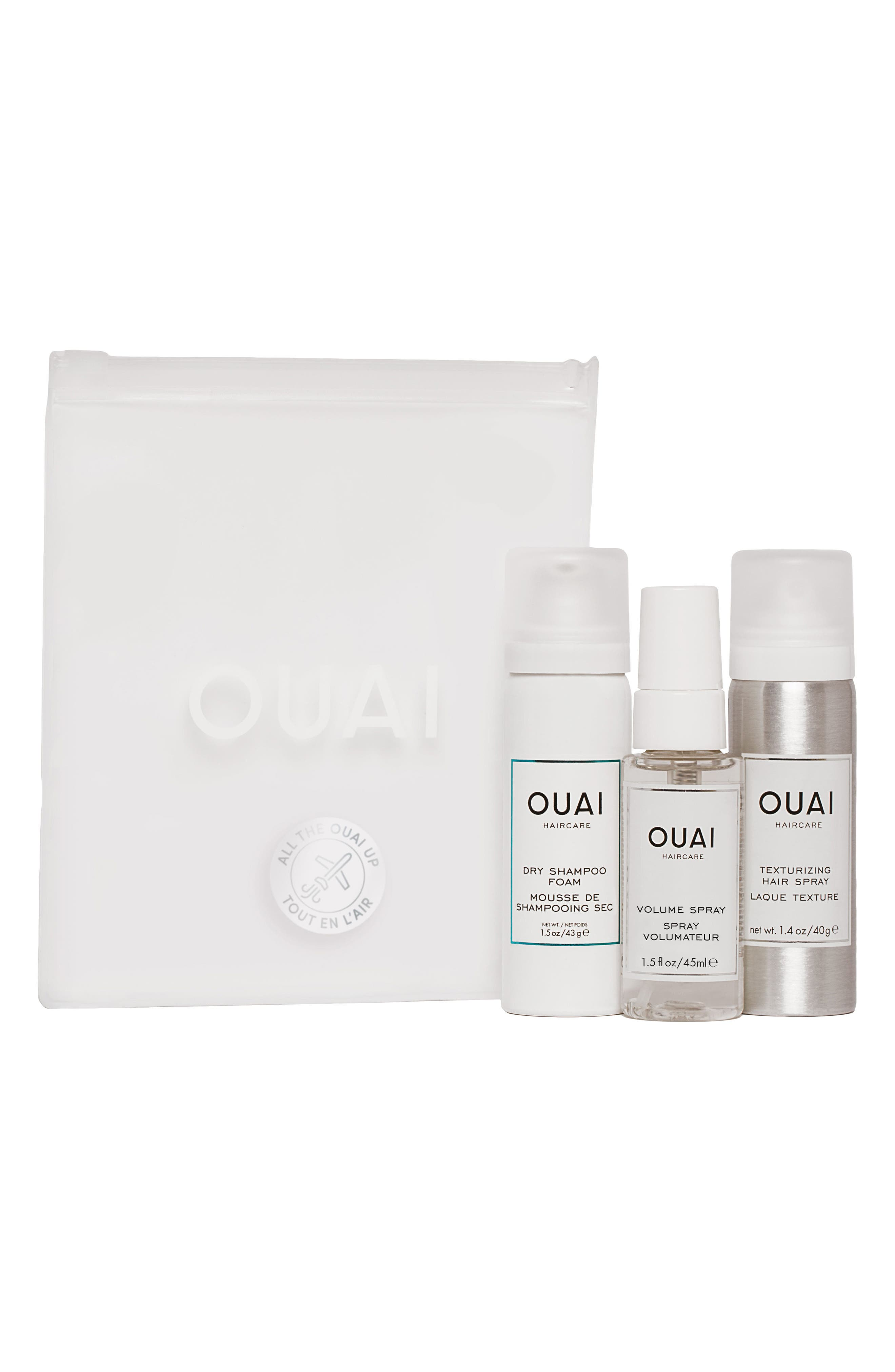 All The OUAI Travel Kit,                             Main thumbnail 1, color,                             No Color