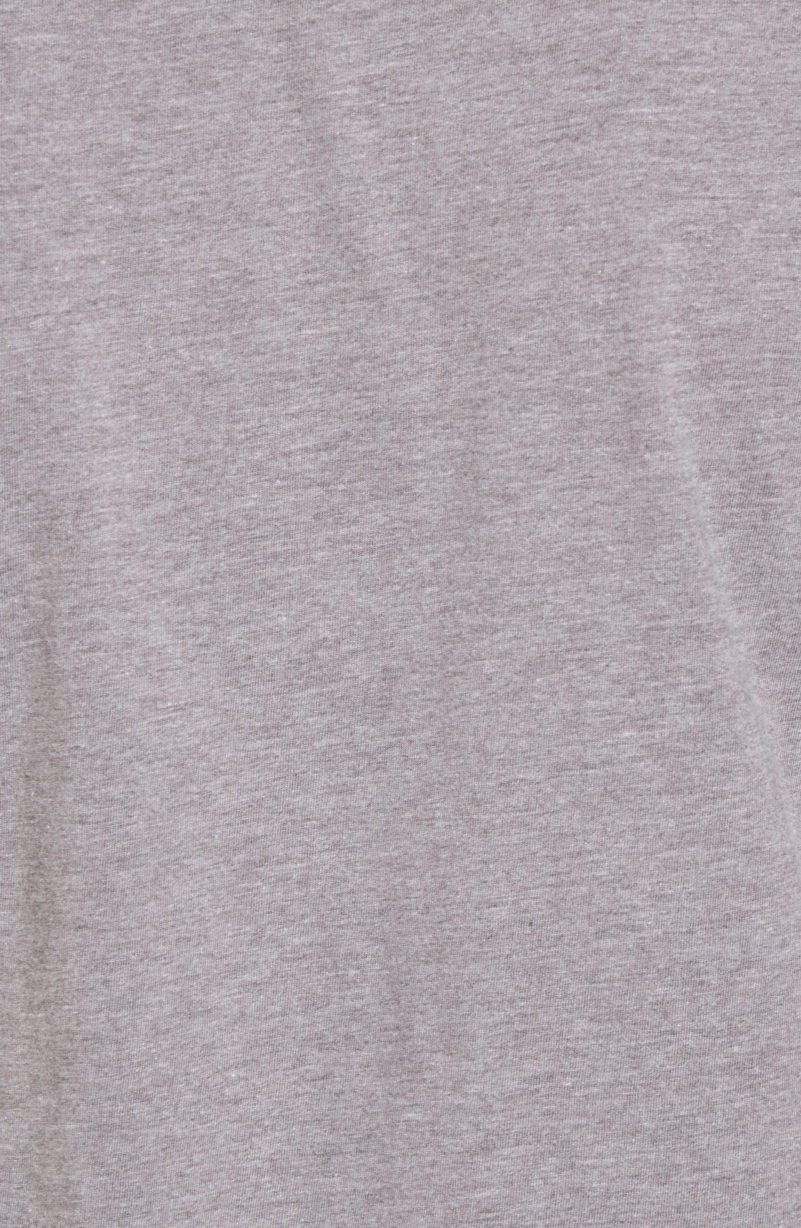Crosby Boston Bruins T-Shirt,                             Alternate thumbnail 5, color,                             Heather Grey