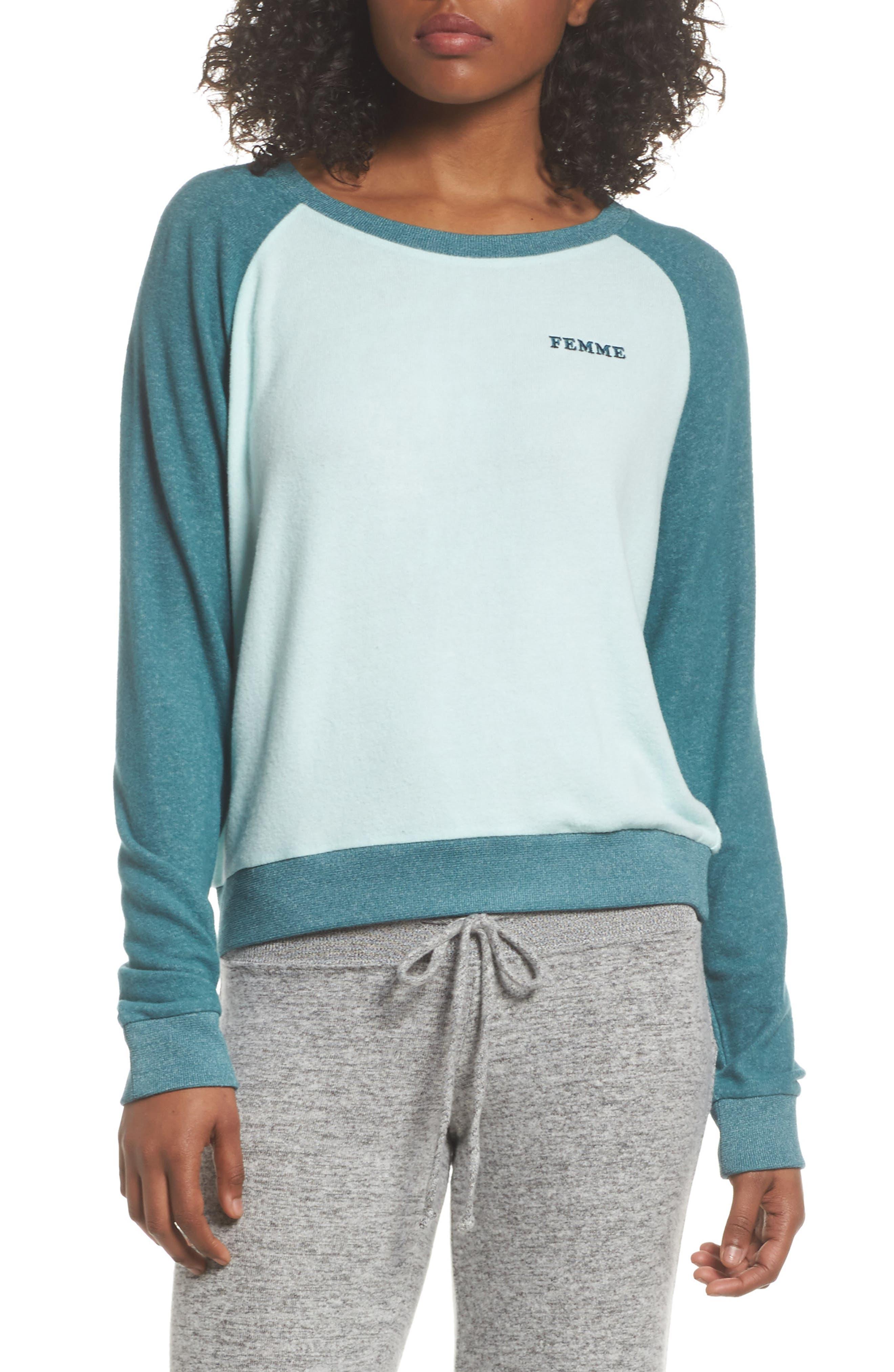 Make + Model Cozy Crew Raglan Sweatshirt