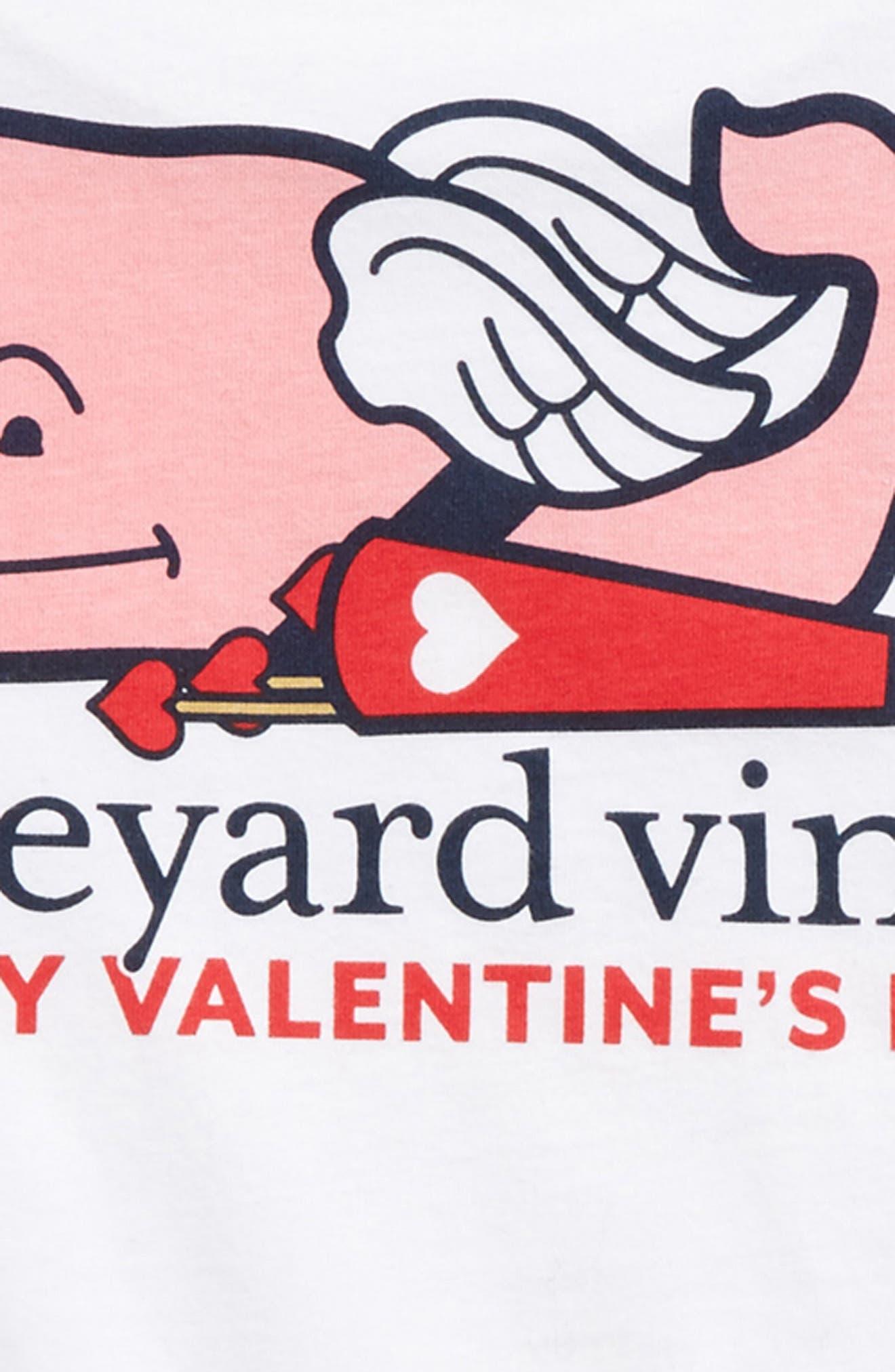 Alternate Image 3  - vineyard vines Cupid Whale Pocket T-Shirt (Big Boys)