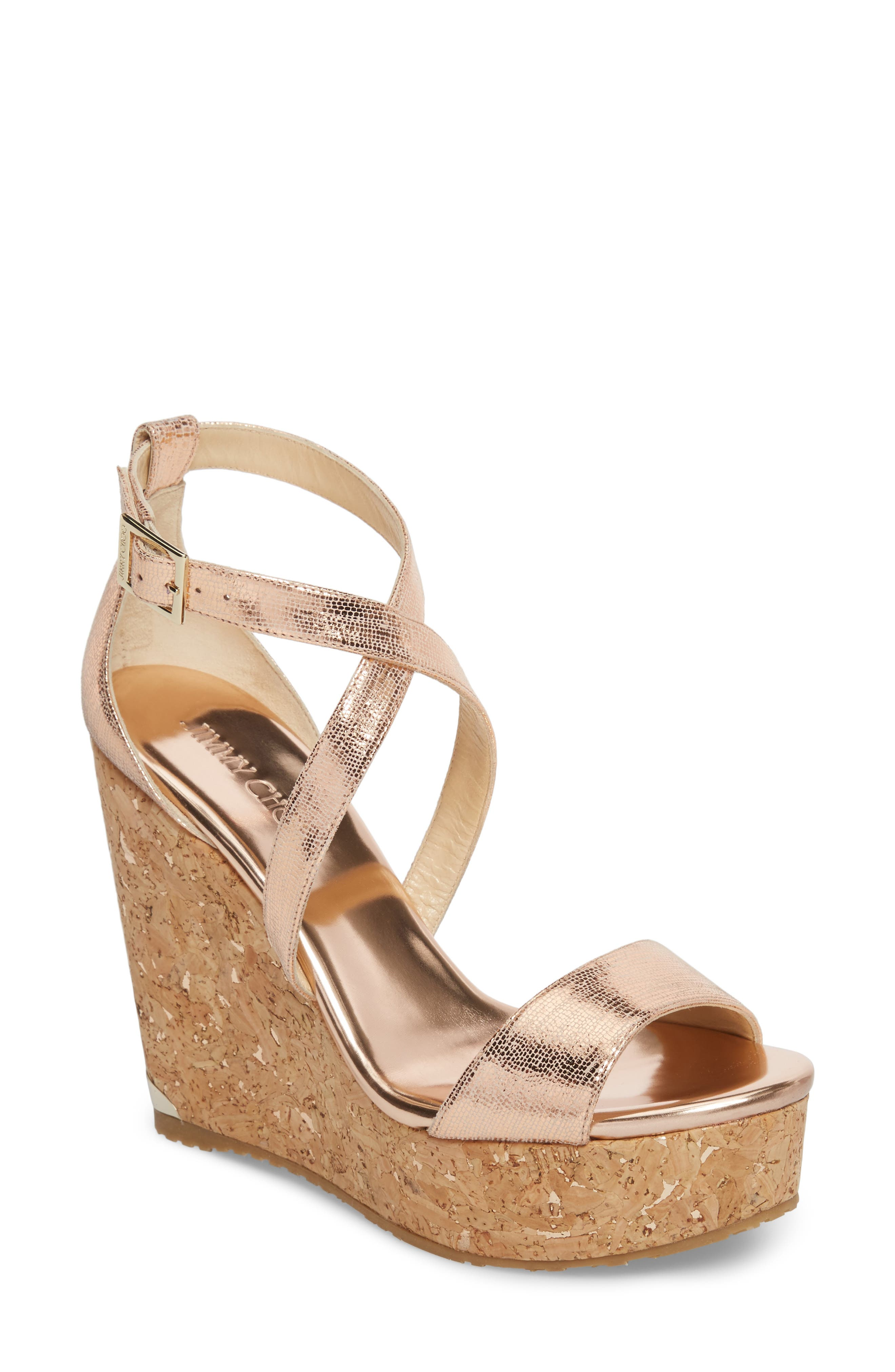 Jimmy Choo 'Portia' Platform Wedge (Women)