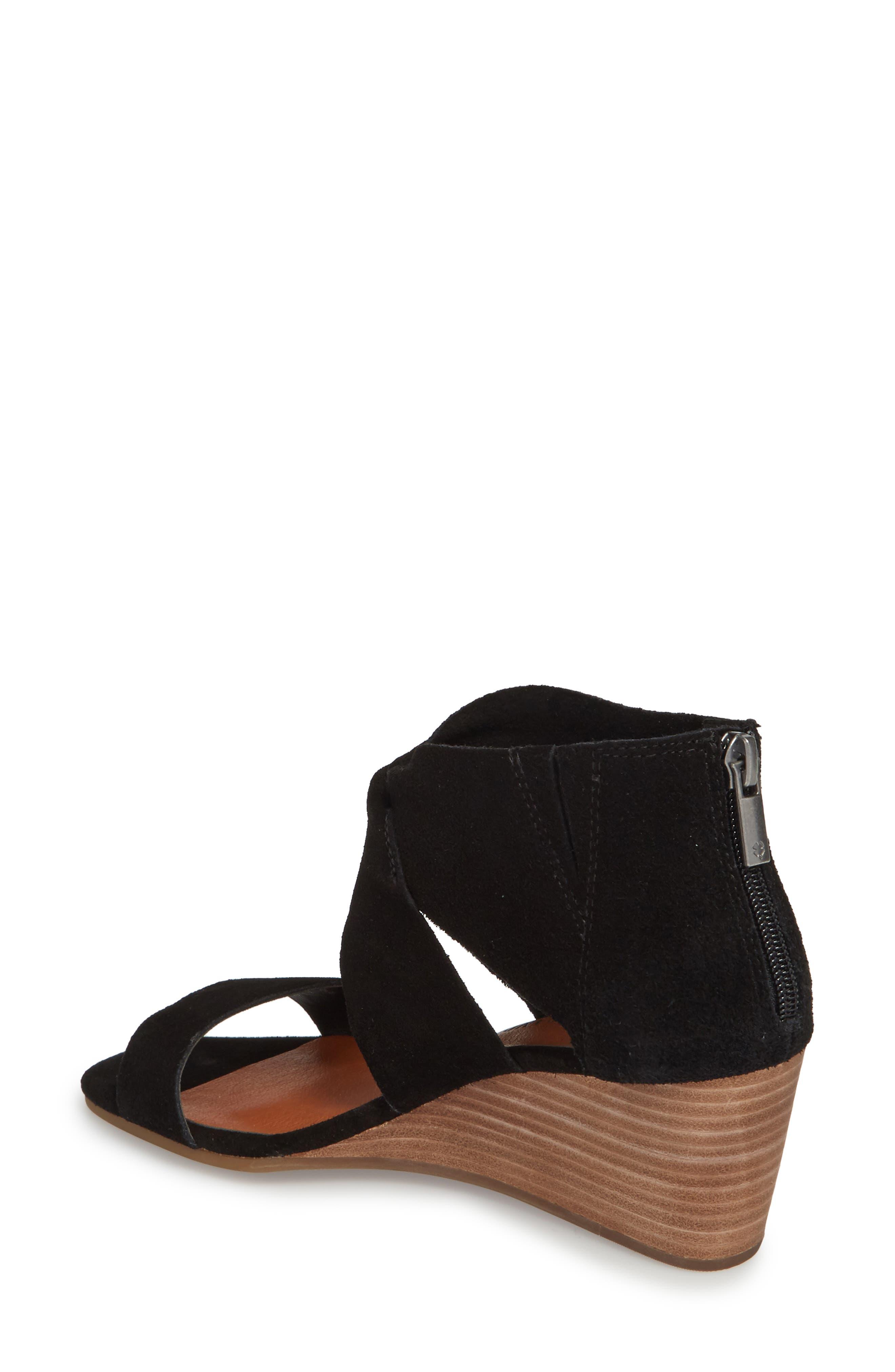 Alternate Image 2  - Lucky Brand Tammanee Wedge Sandal (Women)