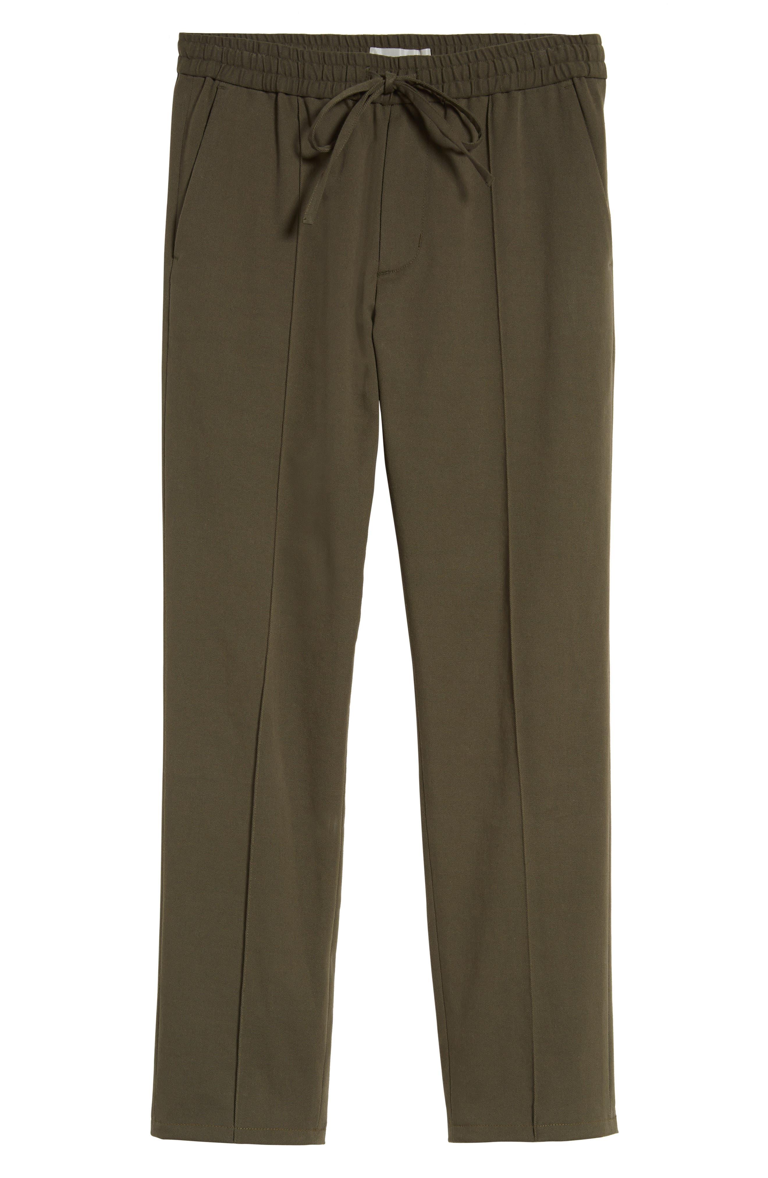 Regular Fit Track Pants,                             Alternate thumbnail 6, color,                             Fatigue