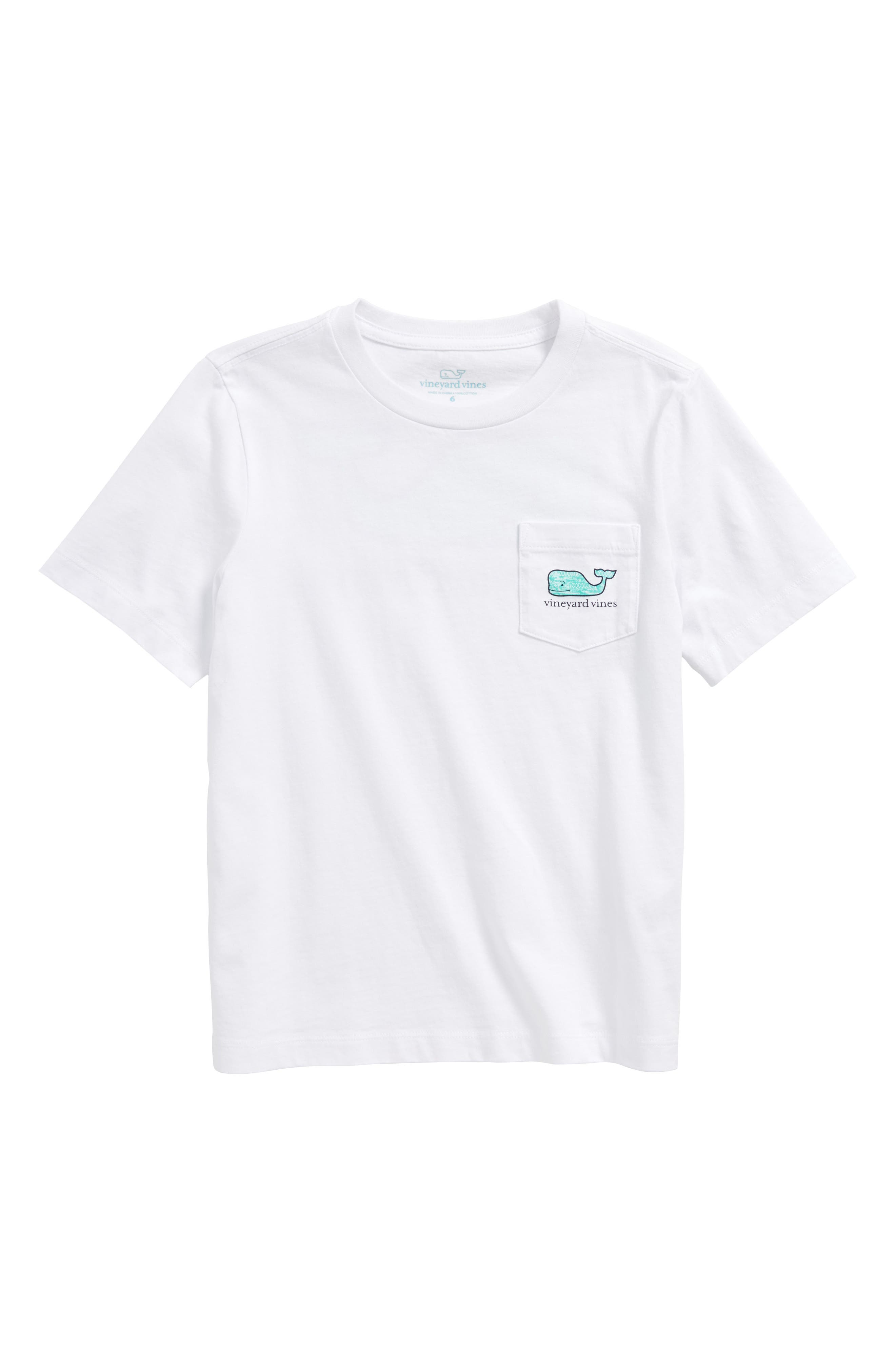 Fish Gate Whale T-Shirt,                         Main,                         color, White Cap