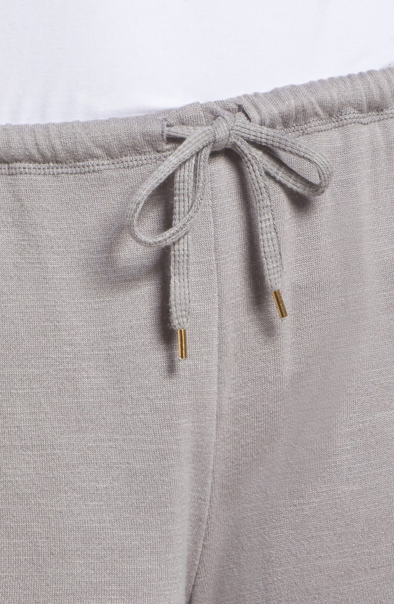 French Terry Lounge Shorts,                             Alternate thumbnail 5, color,                             Katana
