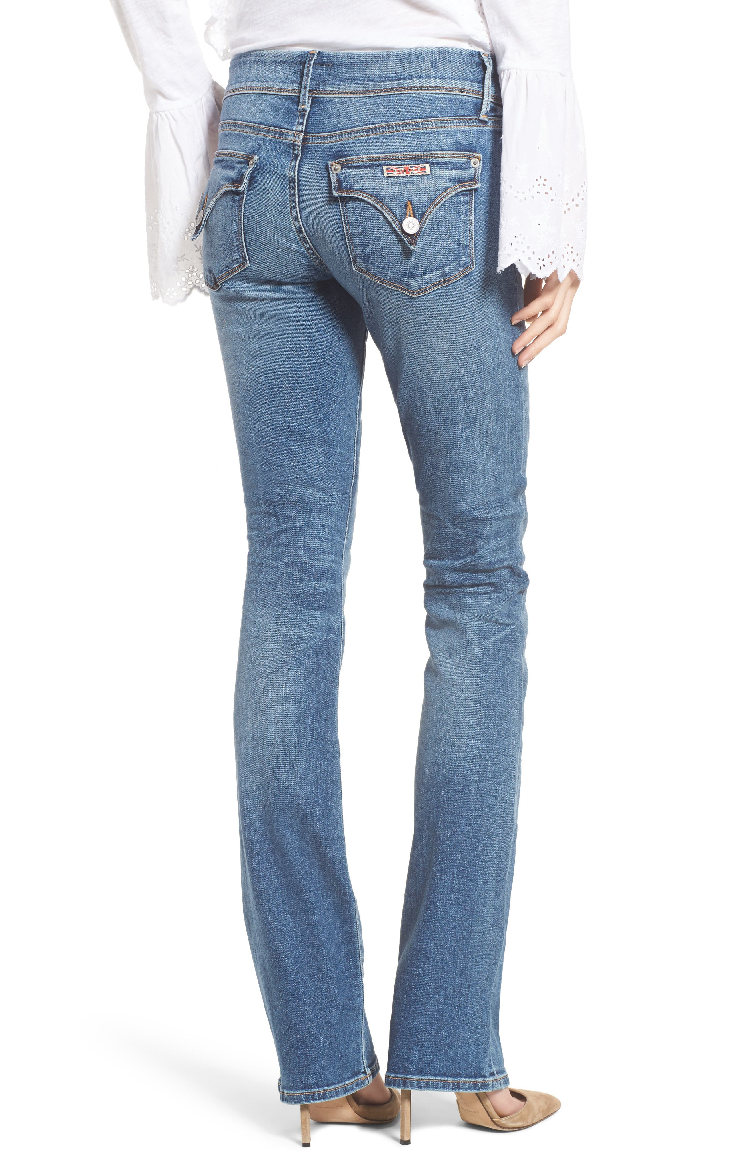 Beth Baby Bootcut Jeans,                             Alternate thumbnail 2, color,                             Impala