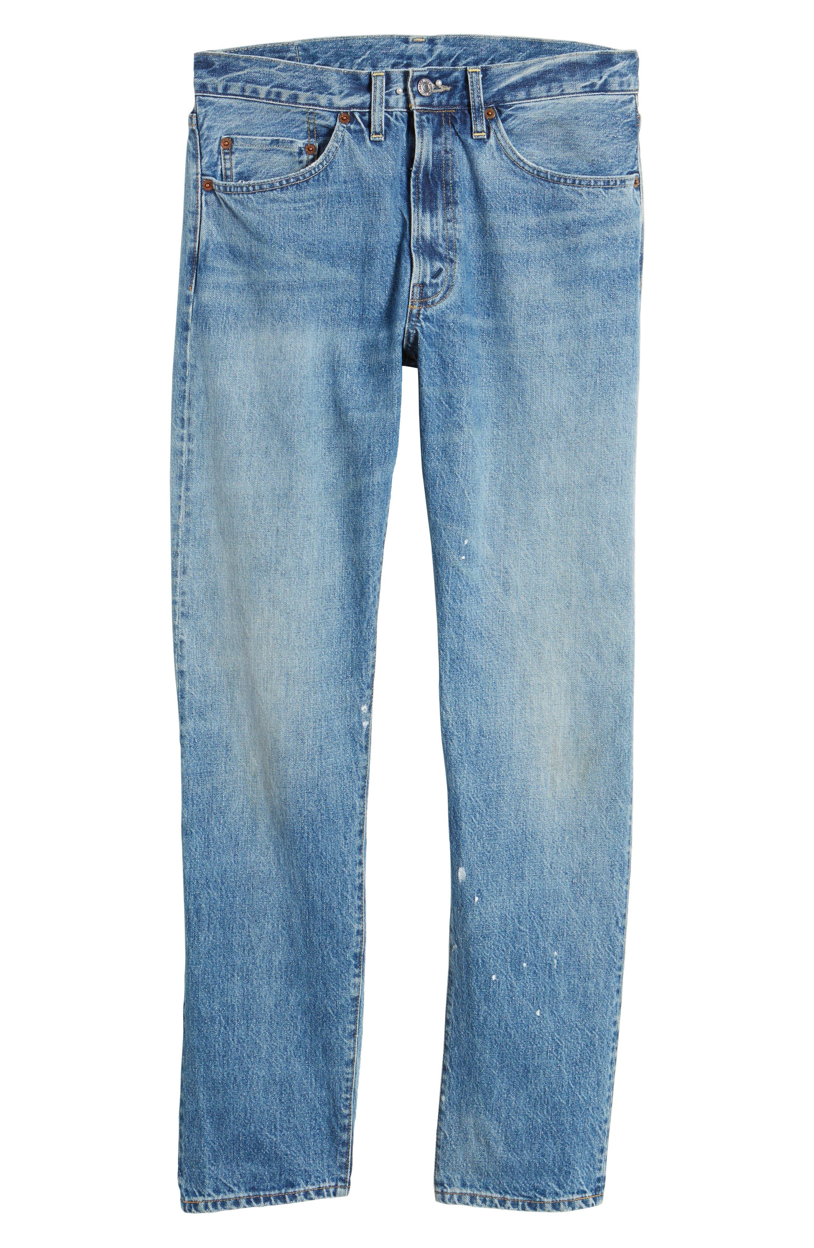 1954 501<sup>®</sup> Tapered Leg Jeans,                             Alternate thumbnail 6, color,                             Baja Surf
