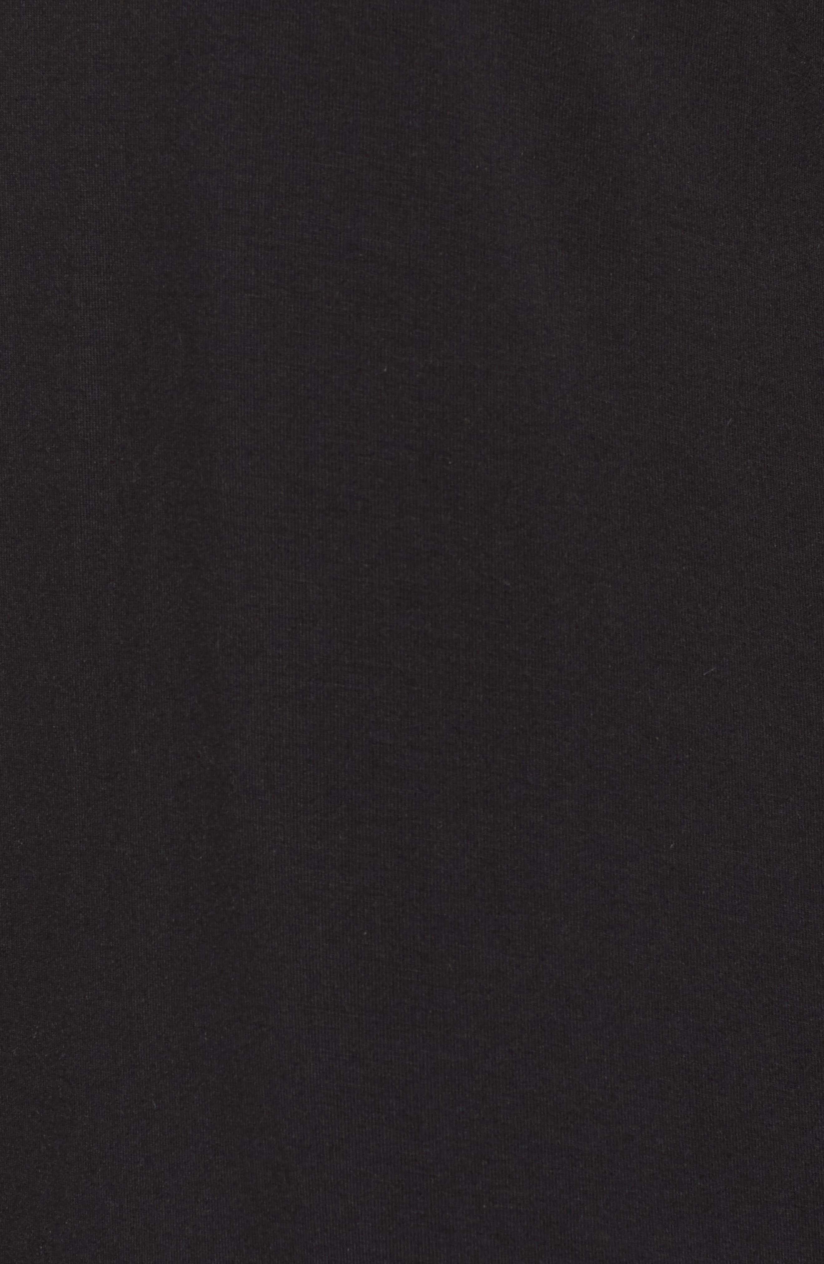 Moonlight Short Pajamas,                             Alternate thumbnail 6, color,                             Black
