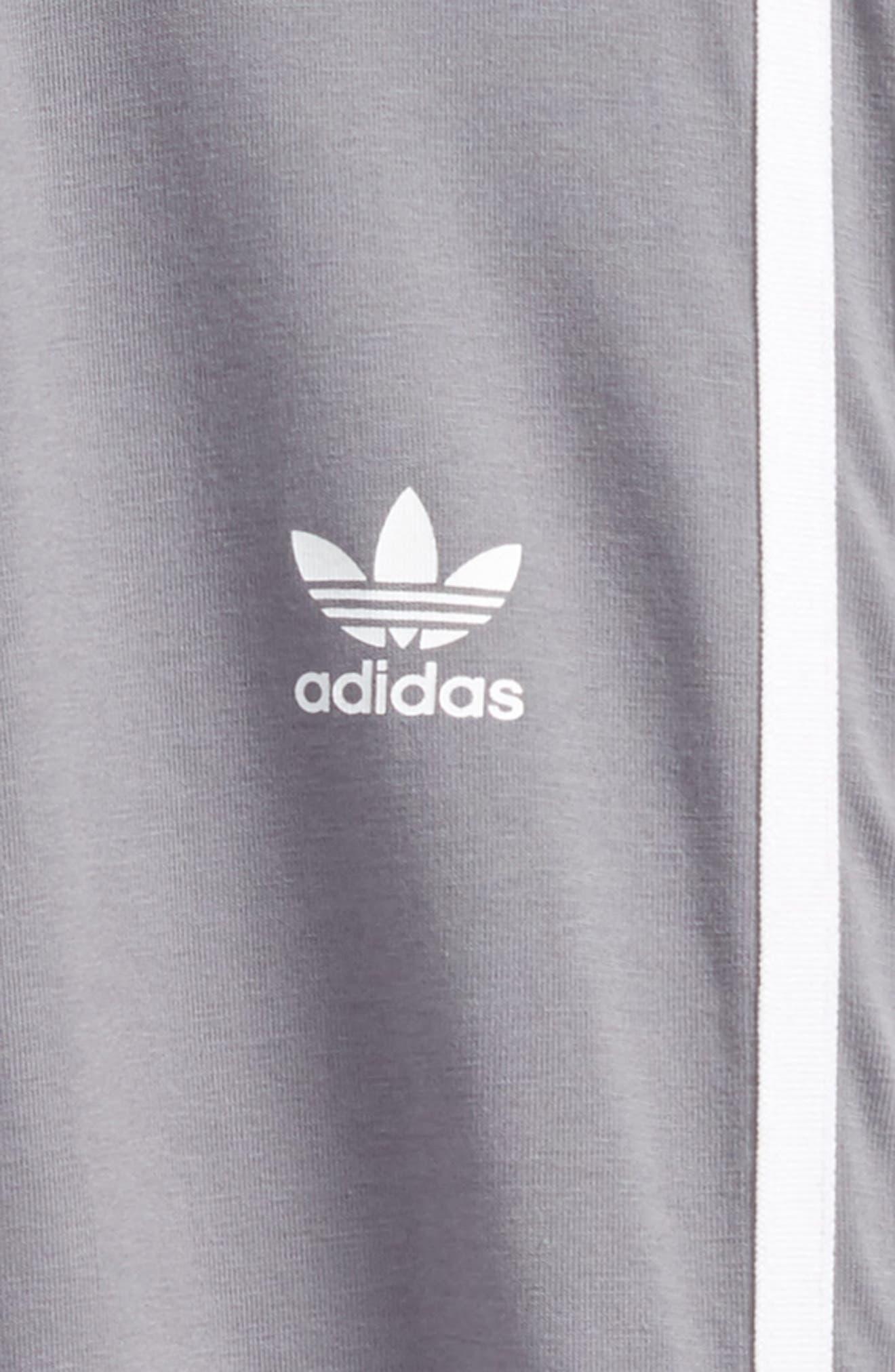 Alternate Image 2  - adidas 3-Stripes Leggings (Big Girls)