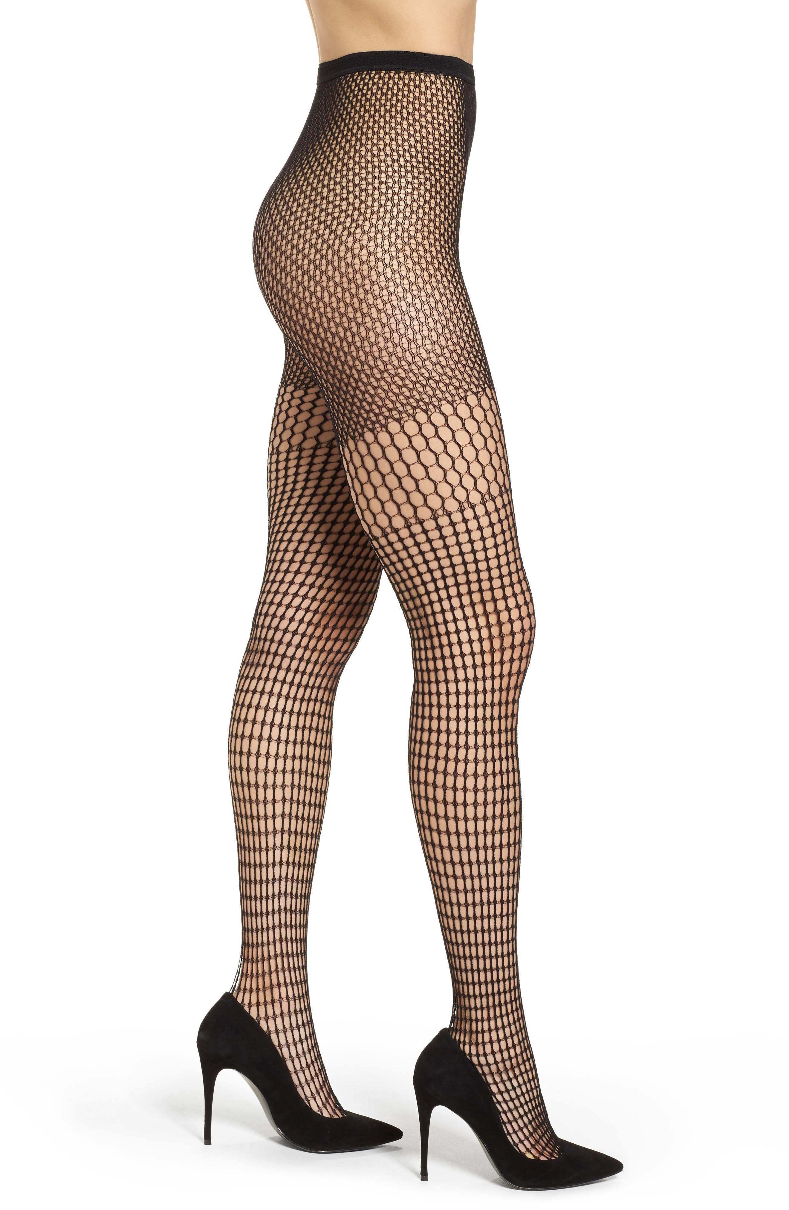 Alternate Image 1 Selected - Pretty Polly Square Net Tights