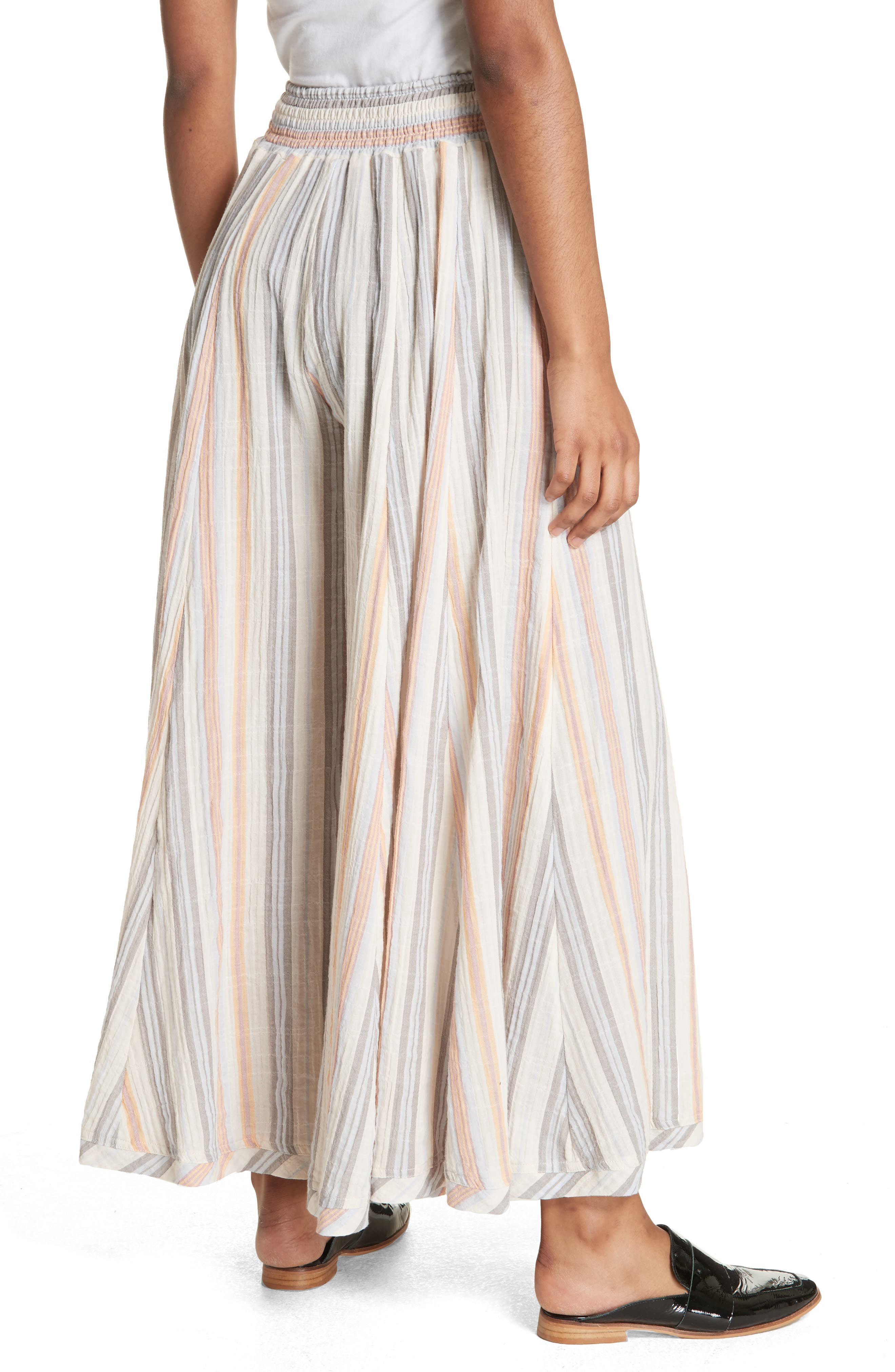 Blaire Culottes,                             Alternate thumbnail 2, color,                             Ivory