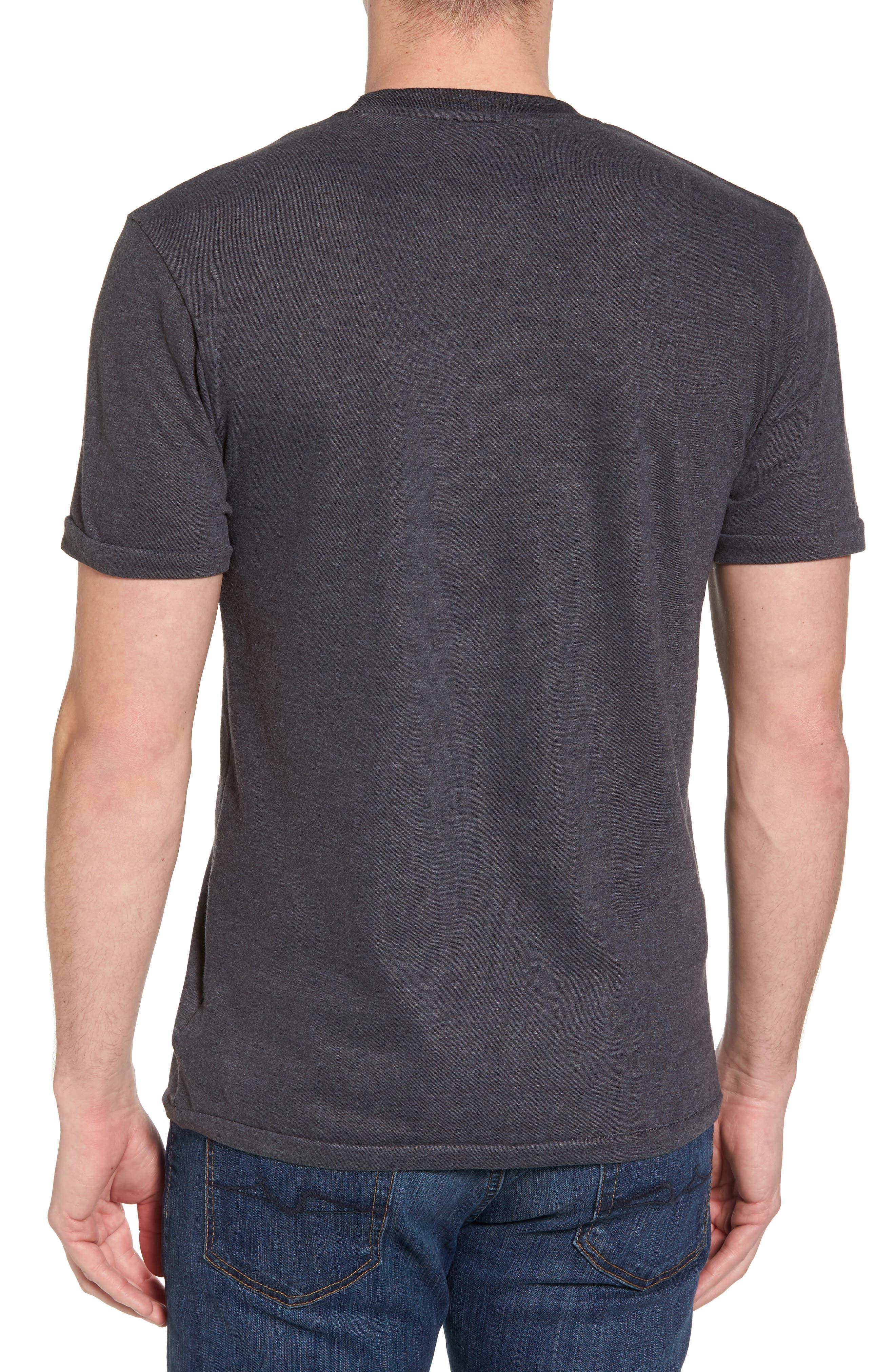 Hillwood Penguins T-Shirt,                             Alternate thumbnail 2, color,                             Heather Black