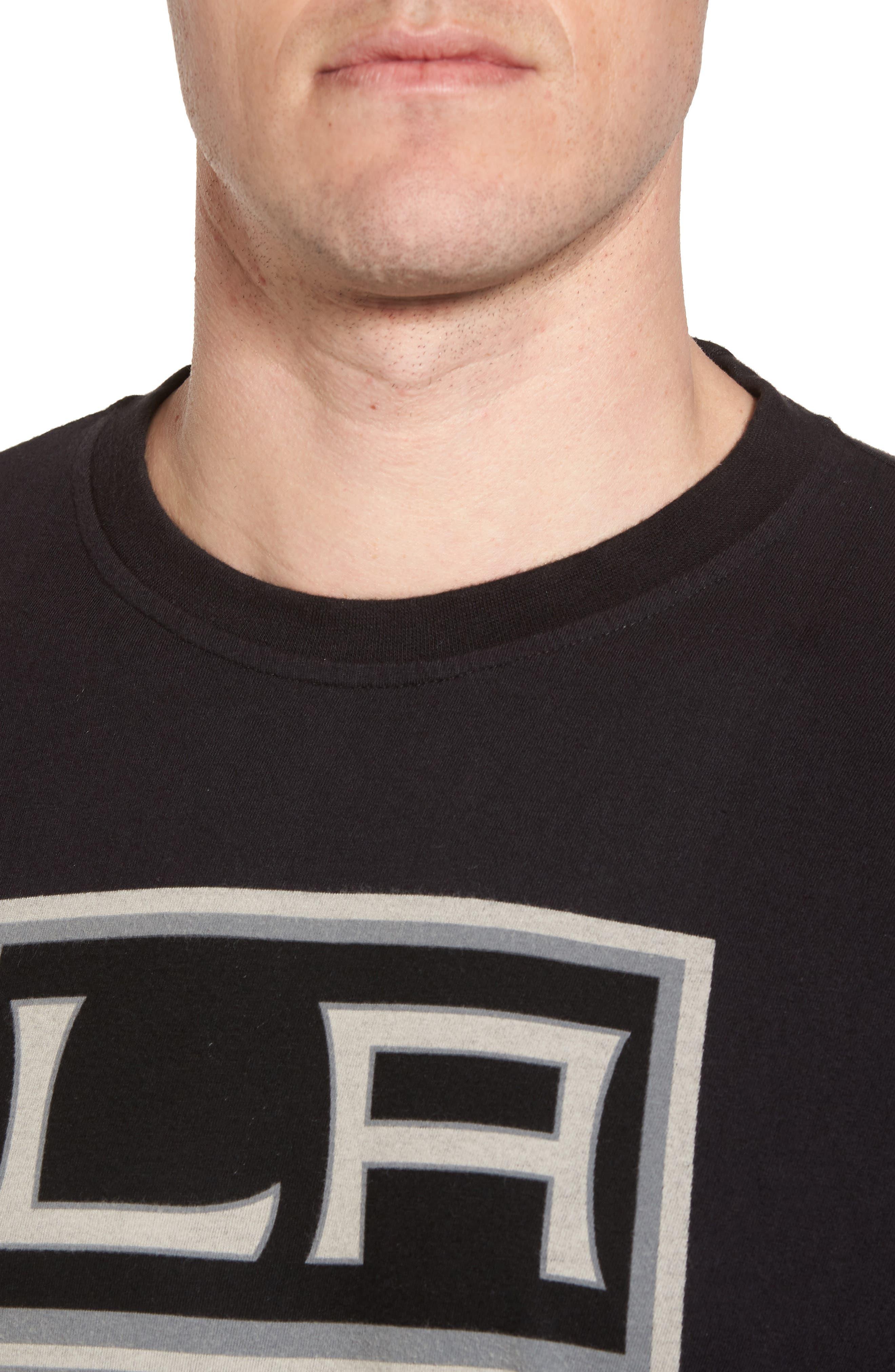 Gresham LA Kings T-Shirt,                             Alternate thumbnail 4, color,                             Black