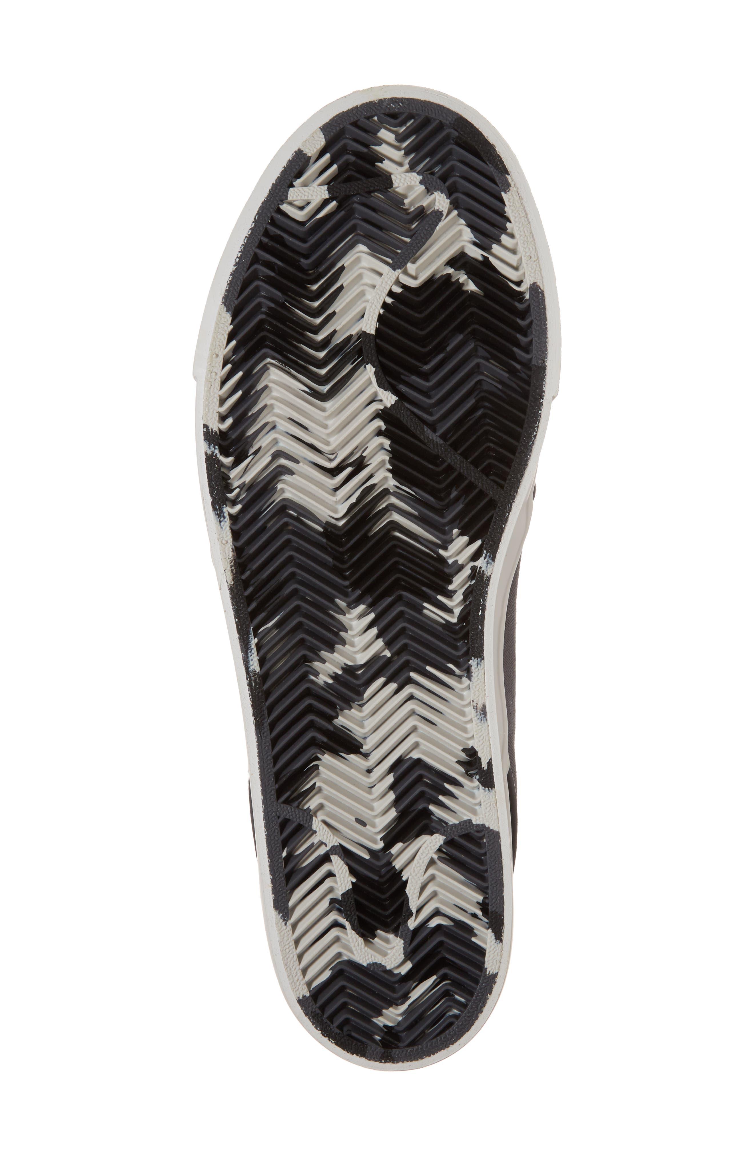 'Zoom - Stefan Janoski SB' Canvas Skate Shoe,                             Alternate thumbnail 6, color,                             Dark Grey/ Bone/ White/ Black