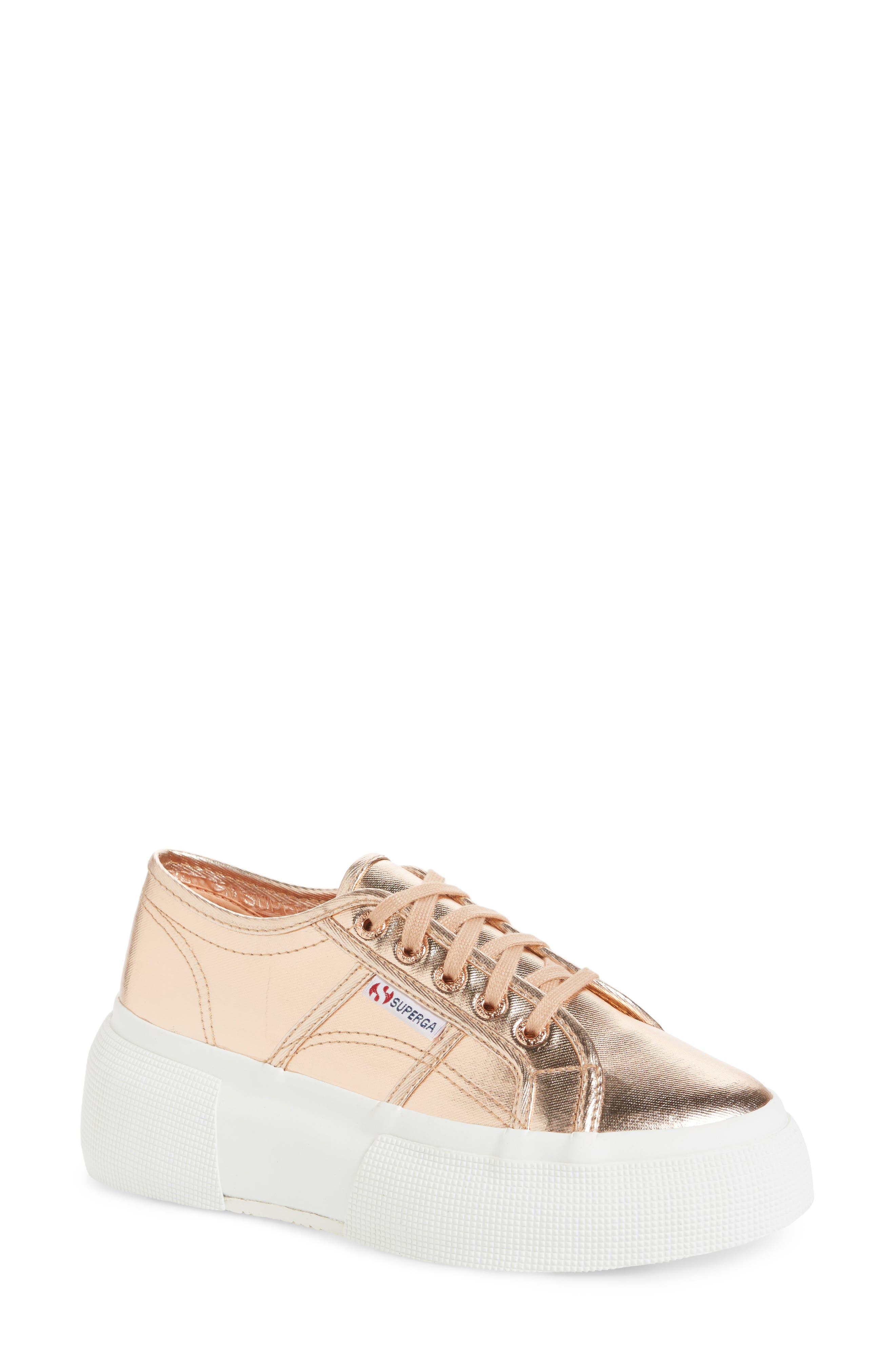 Superga 2287 Cotu Platform Sneaker (Women)