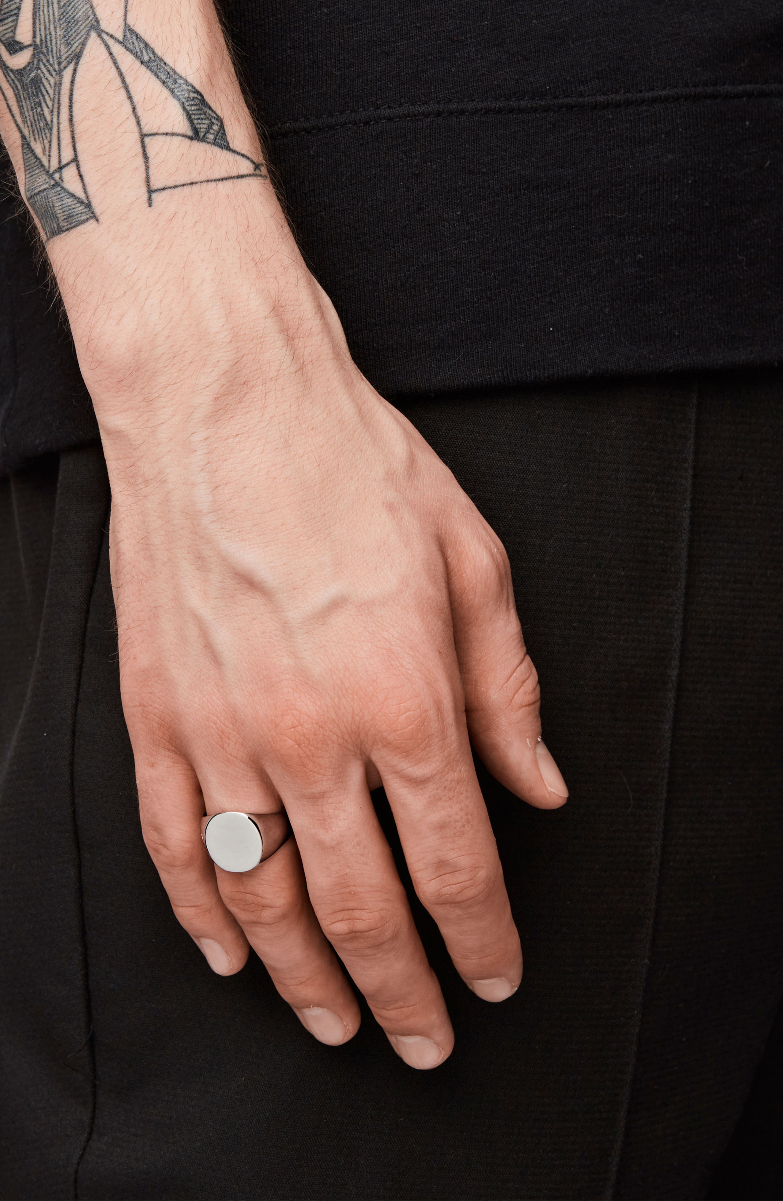 Alternate Image 2  - Tom Wood 'Patriot Collection' Oval Signet Ring