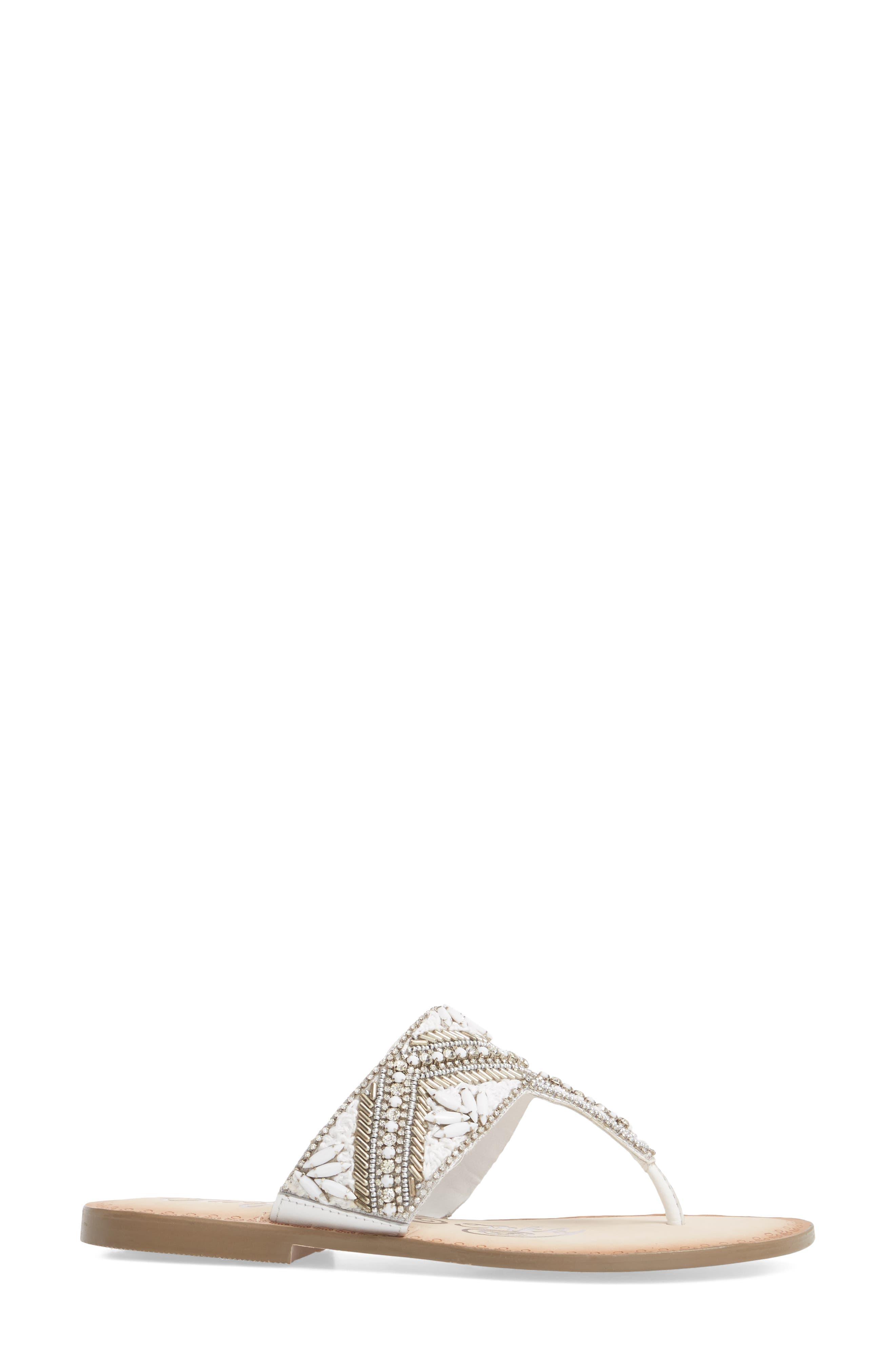 Alternate Image 3  - Naughty Monkey Beaded Sandal (Women)
