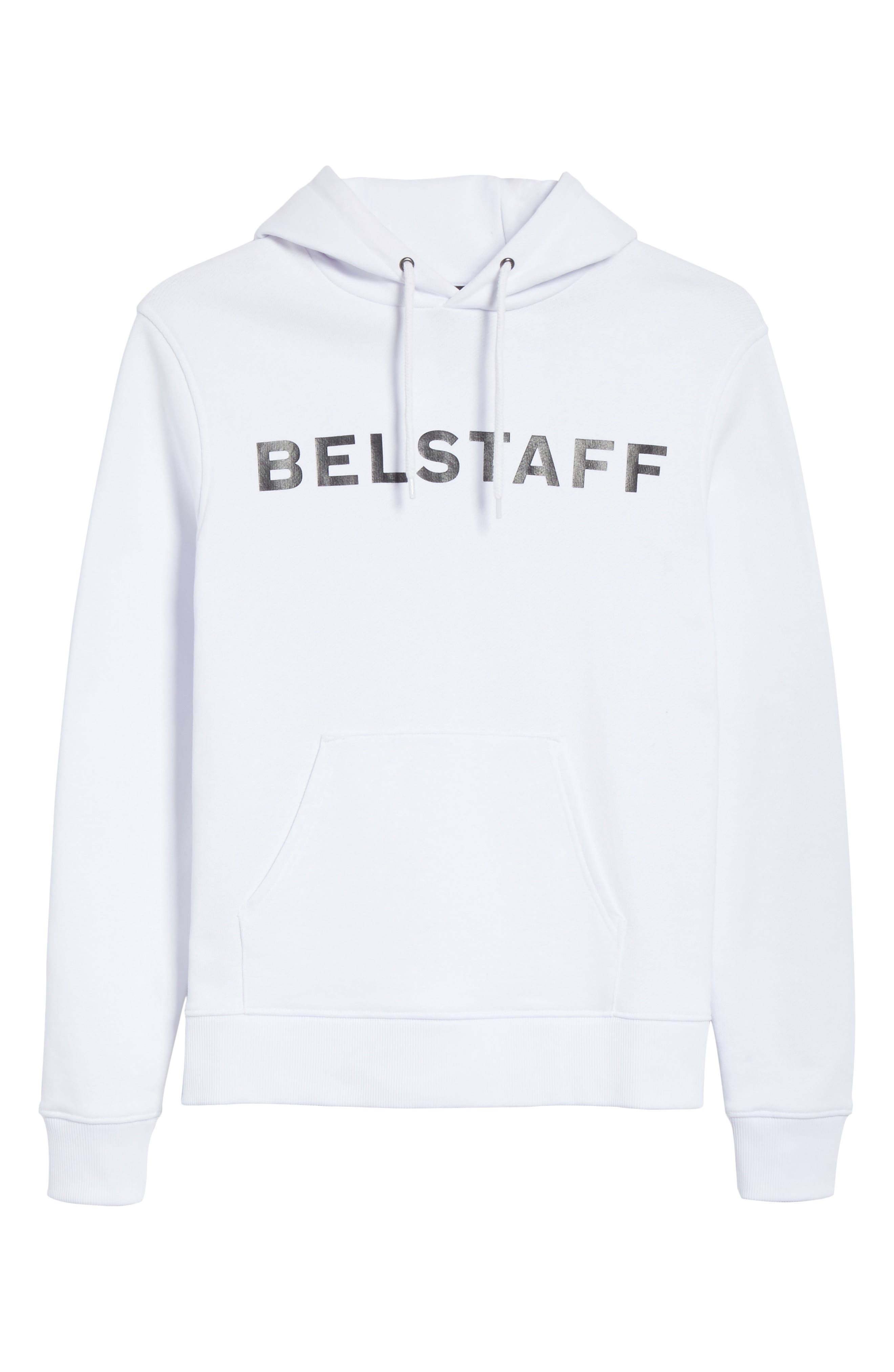 Marfield BXS Graphic Hoodie,                             Alternate thumbnail 5, color,                             White