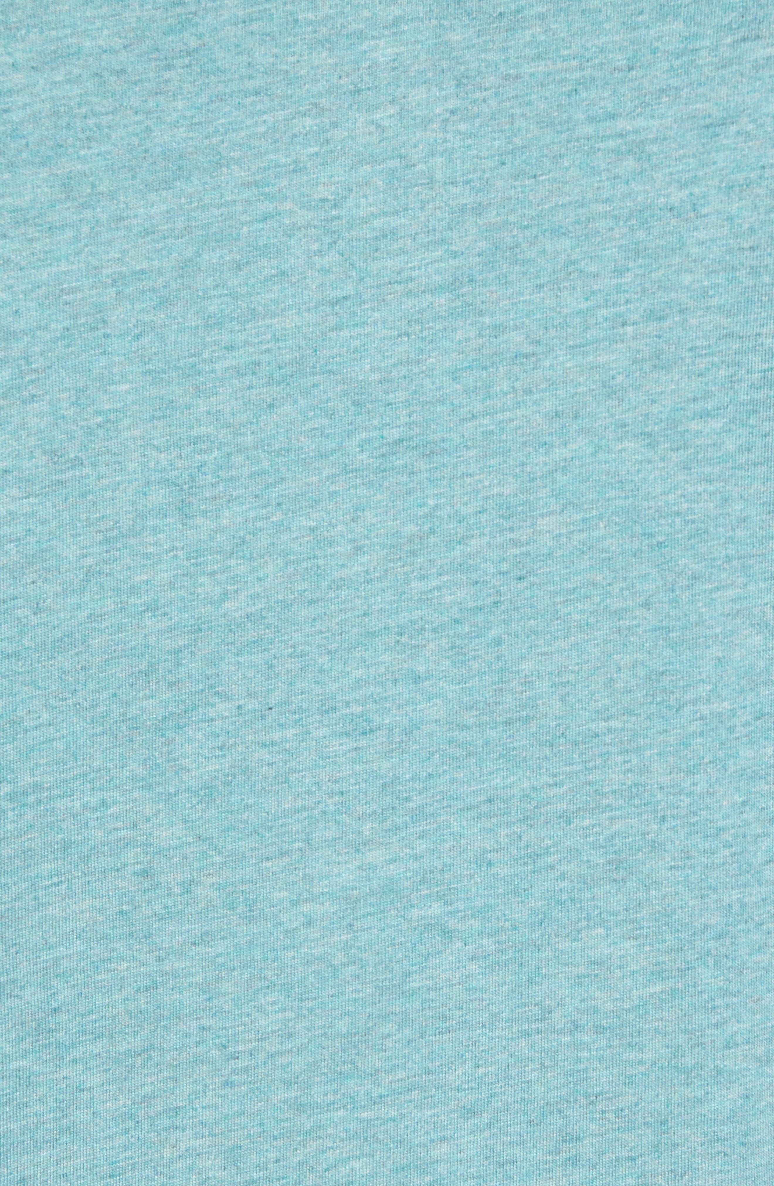 Space Dye Slub Polo,                             Alternate thumbnail 5, color,                             Silver Pine