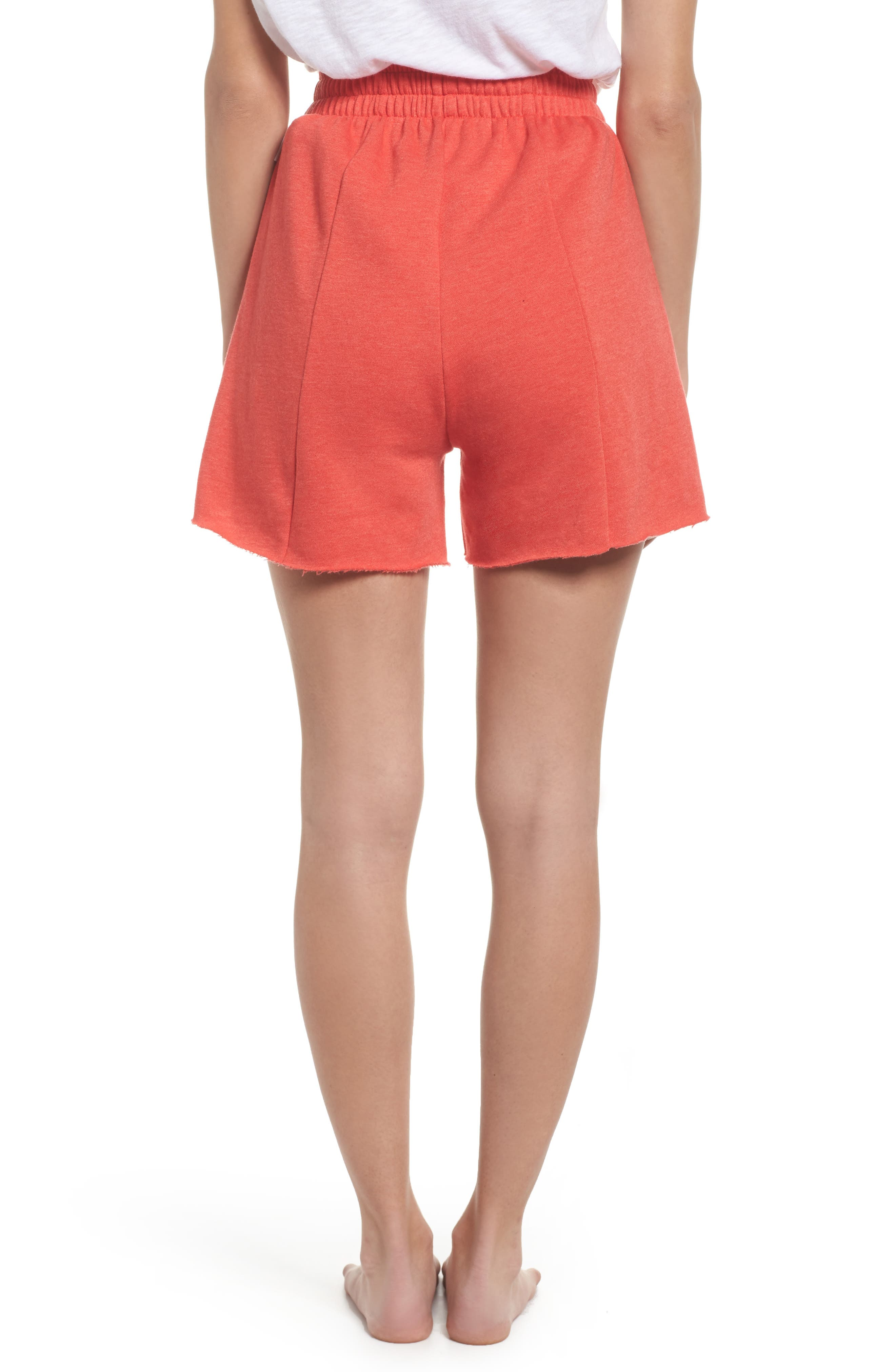 Bermuda Lounge Shorts,                             Alternate thumbnail 2, color,                             Love Red
