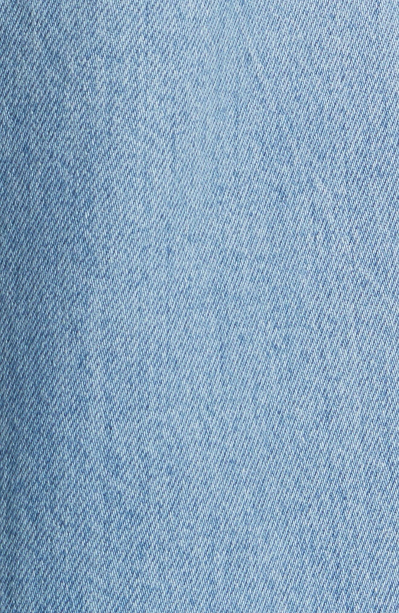 Wide Leg Carpenter Jeans,                             Alternate thumbnail 7, color,                             Vintage Indigo