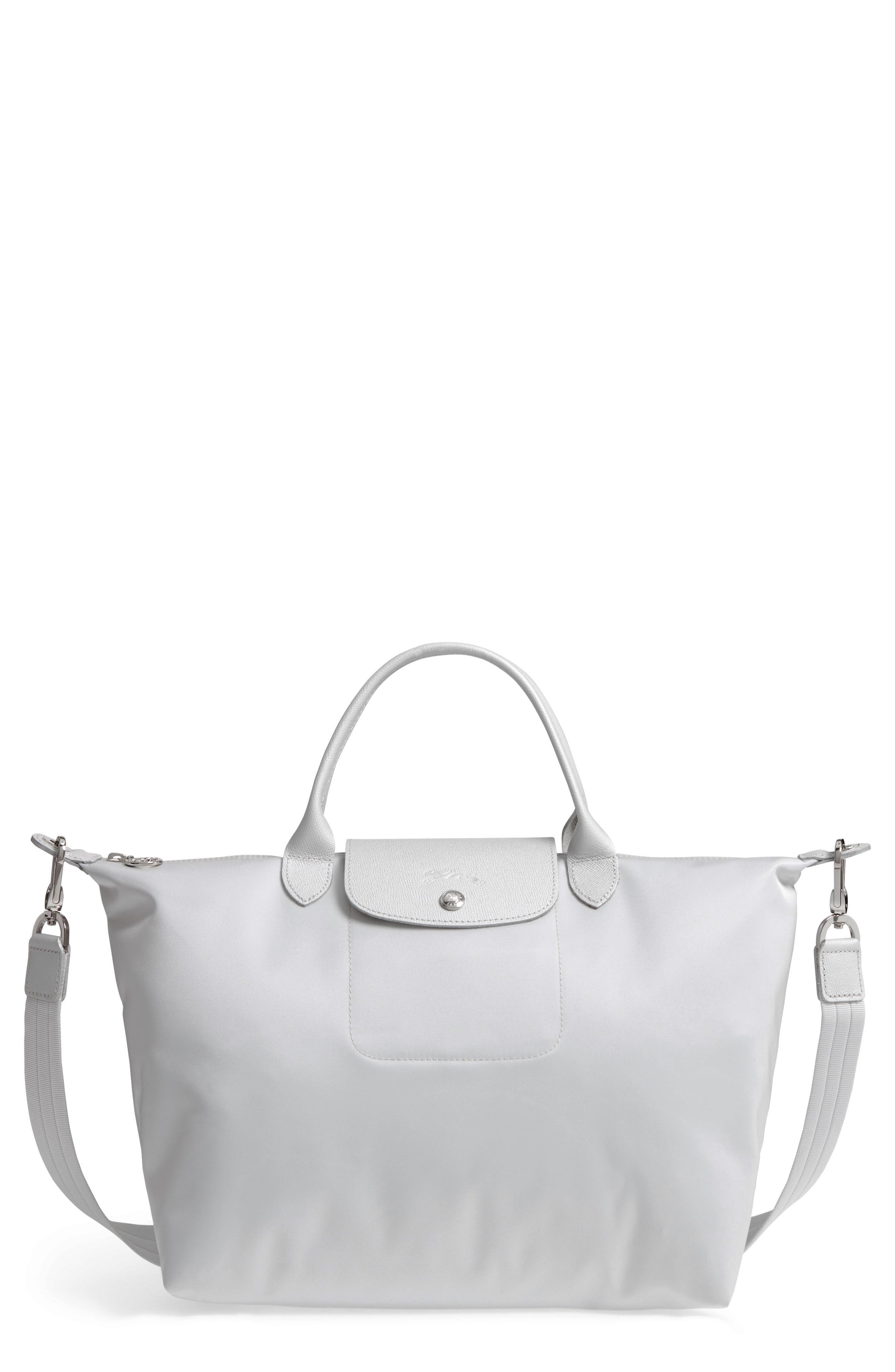 Longchamp \u0027Medium Le Pliage Neo\u0027 Nylon Top Handle Tote