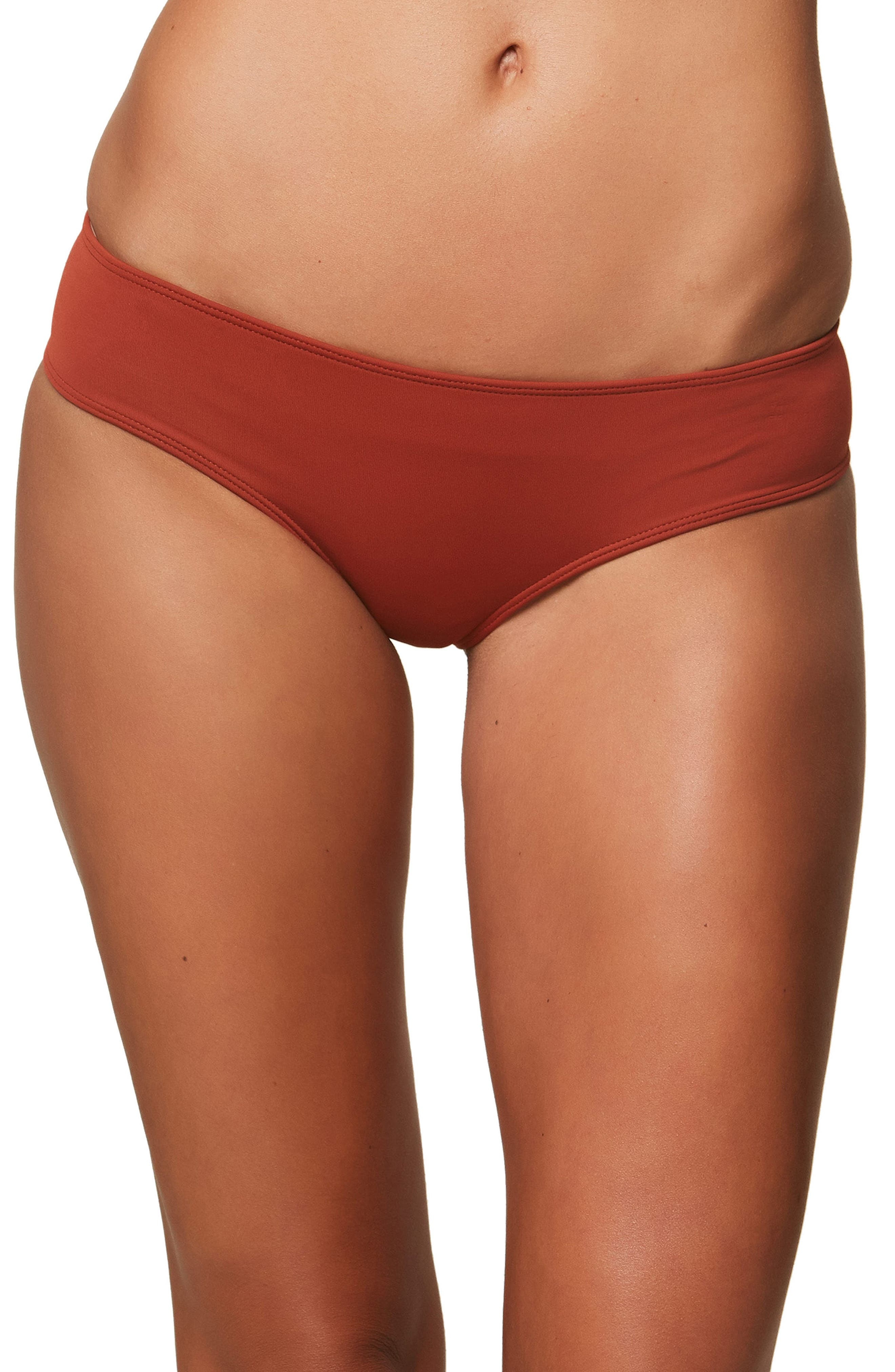 Alternate Image 1 Selected - O'Neill Salt Water Solids Hipster Bikini Bottoms