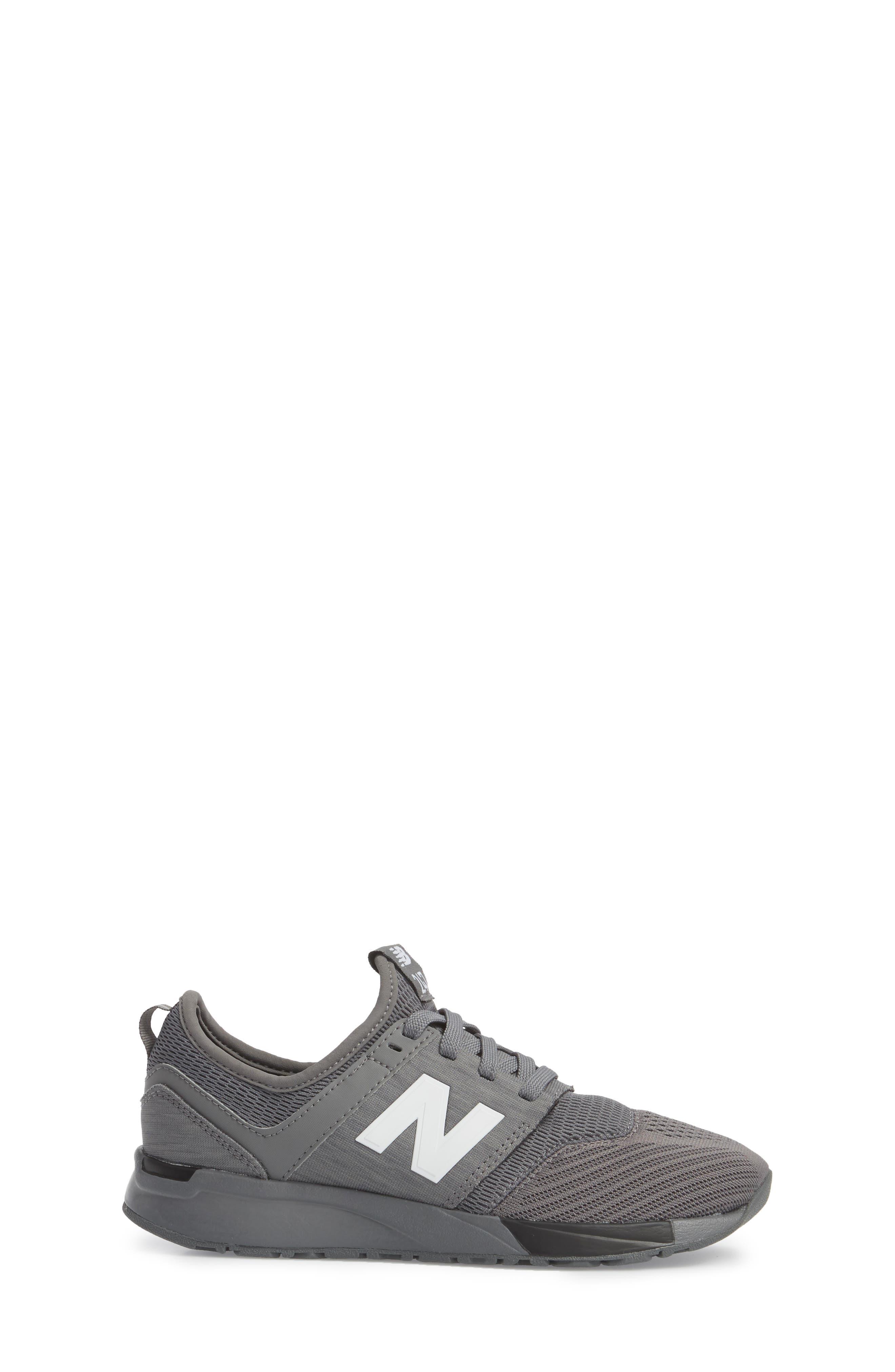 247 Sport Sneaker,                             Alternate thumbnail 3, color,                             Grey/ Black