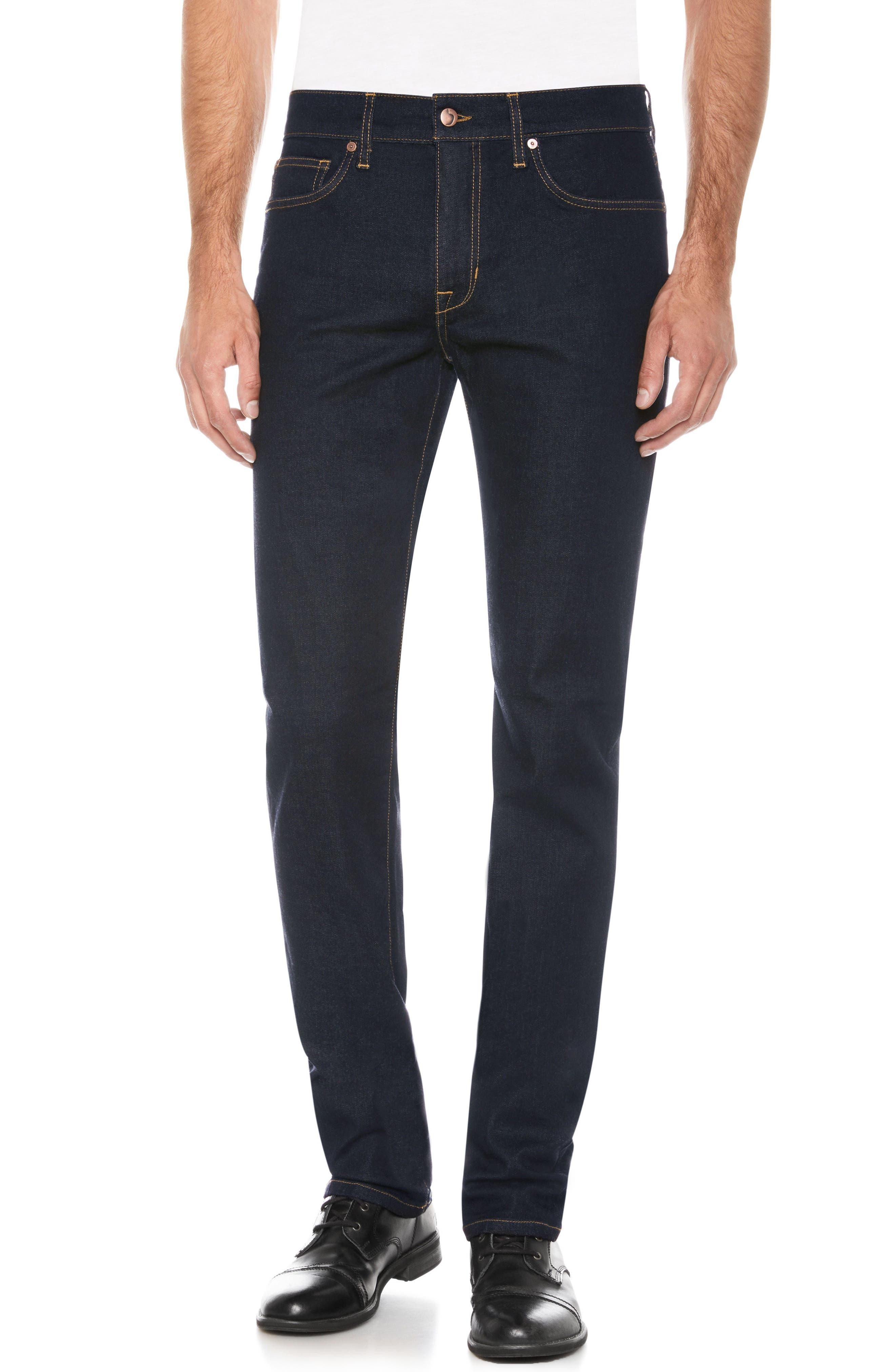 Brixton Slim Straight Fit Jeans,                             Main thumbnail 1, color,                             Jazz