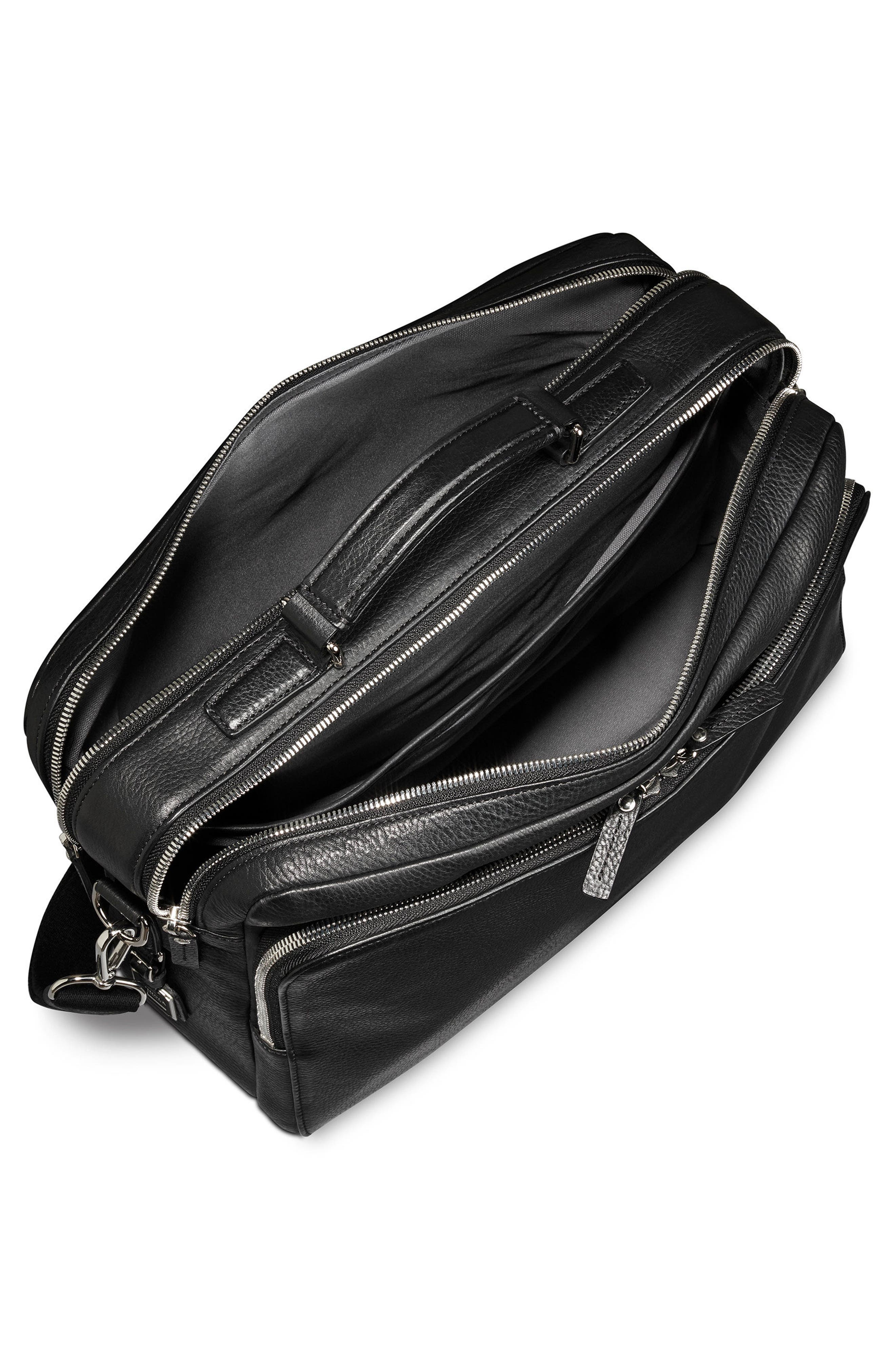 Canfield Briefcase,                             Alternate thumbnail 3, color,                             Black