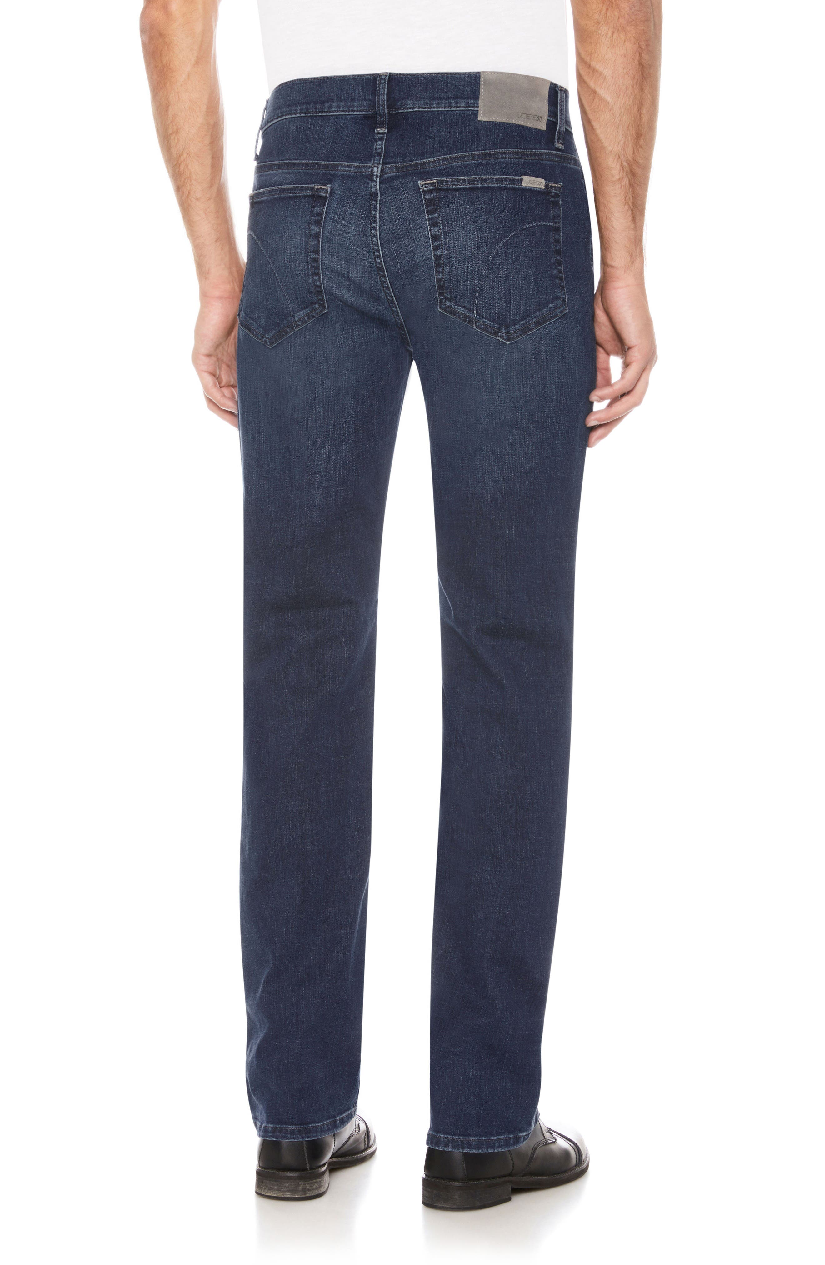 Classic Straight Fit Jeans,                             Alternate thumbnail 2, color,                             Belding