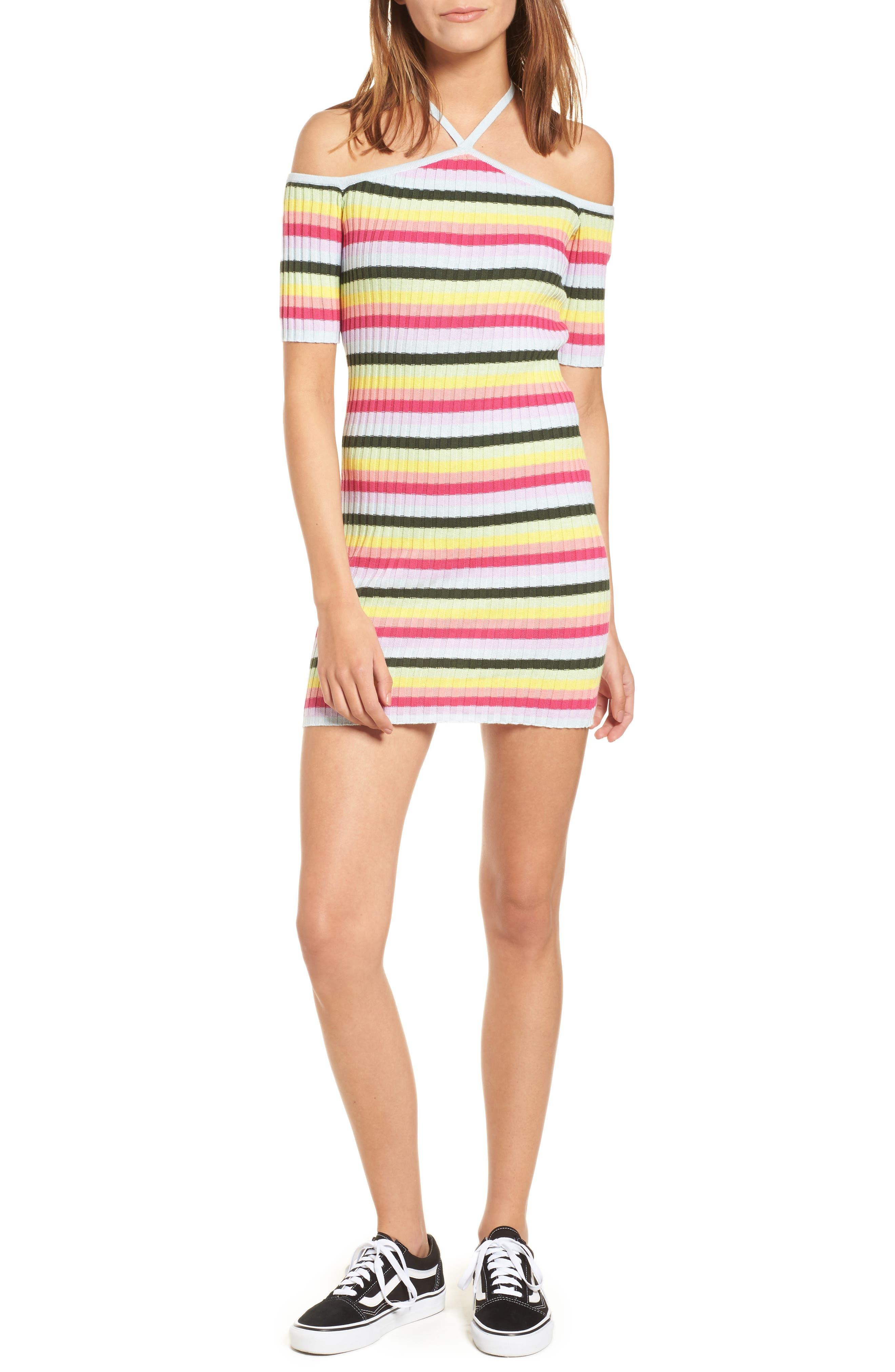 Main Image - Obey Coco Body-Con Dress