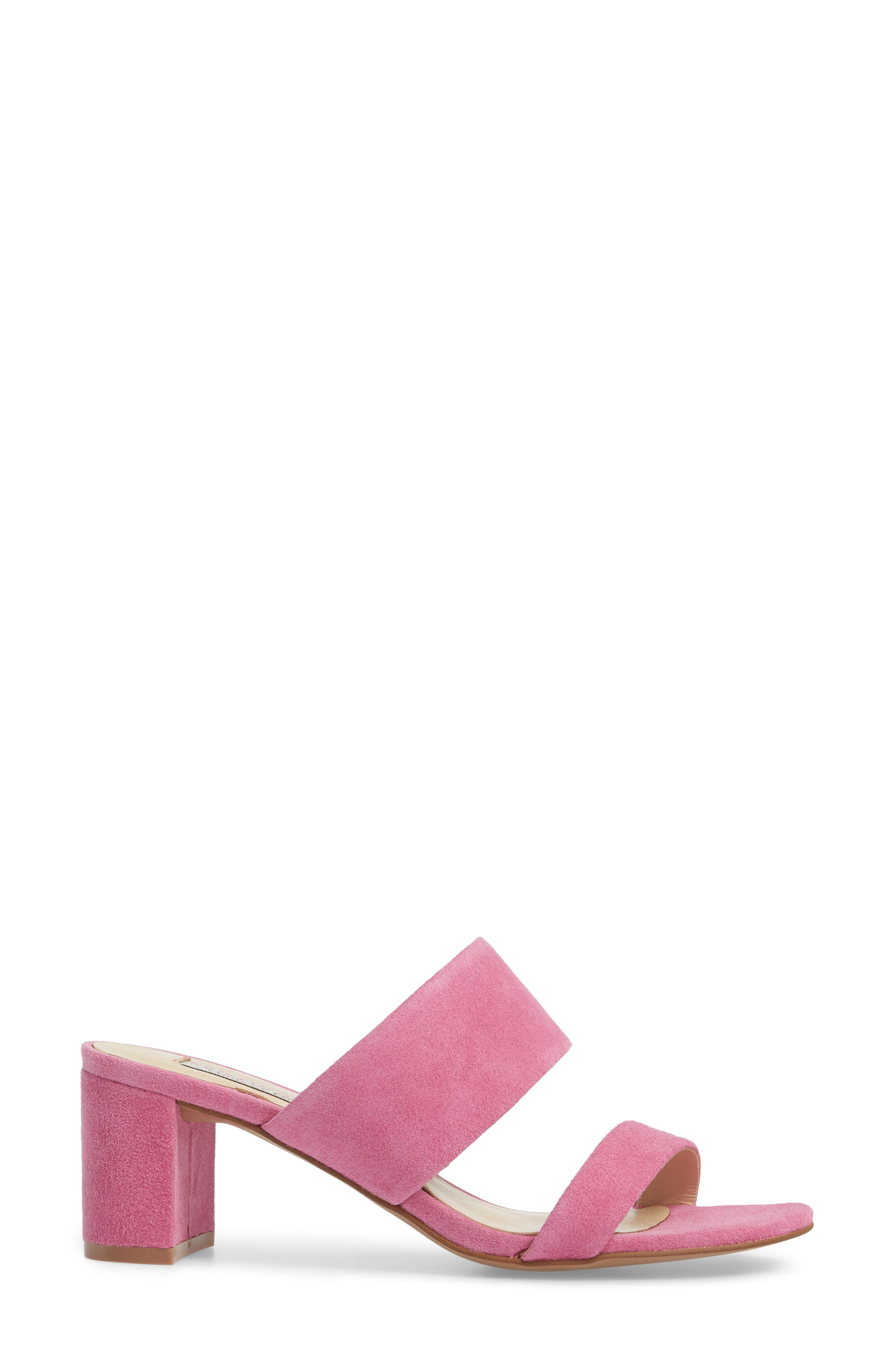 Lakeview Sandal,                             Alternate thumbnail 3, color,                             Fuchsia Suede