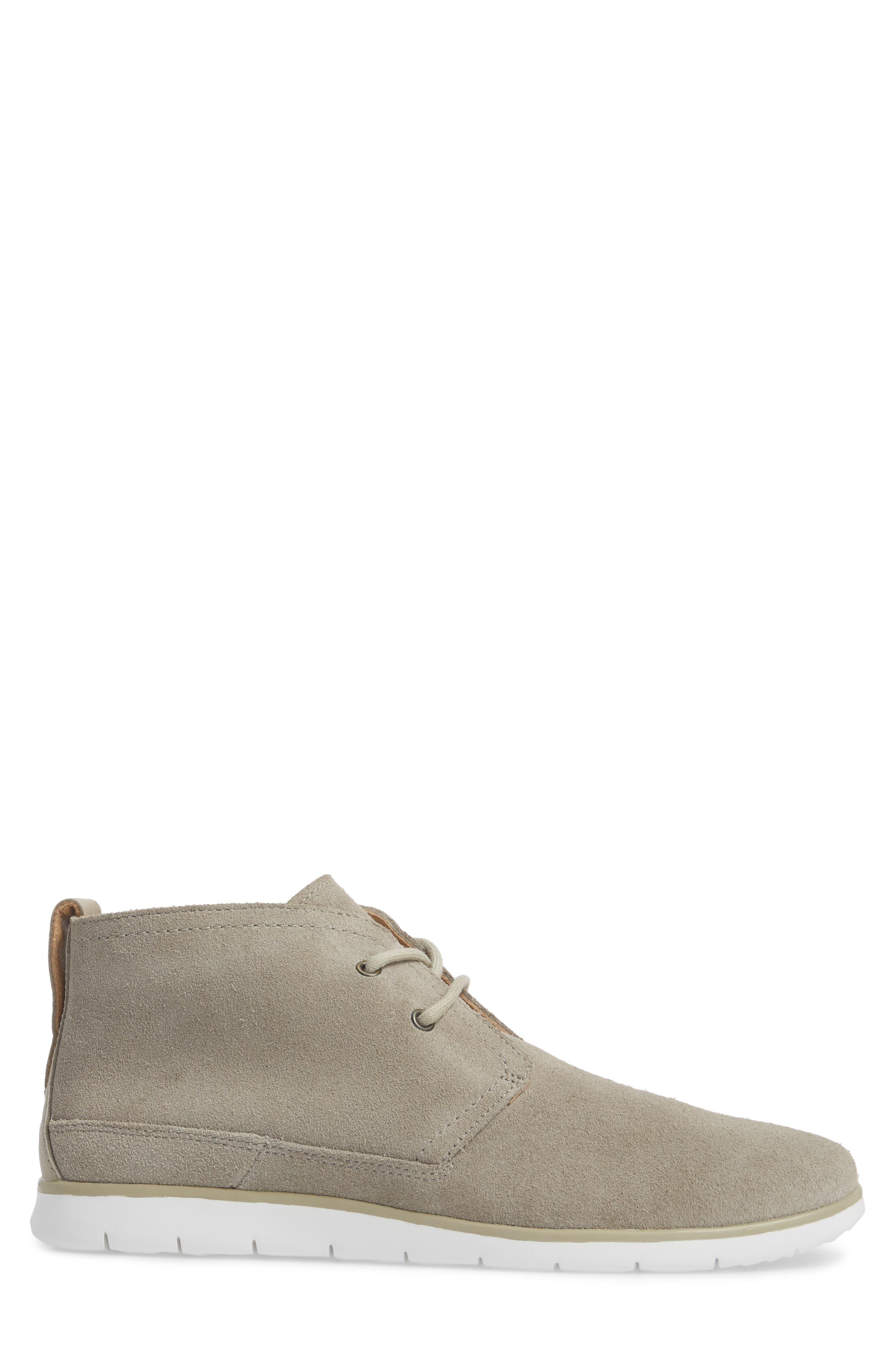 Freamon Chukka Boot,                             Alternate thumbnail 3, color,                             Pumice Leather