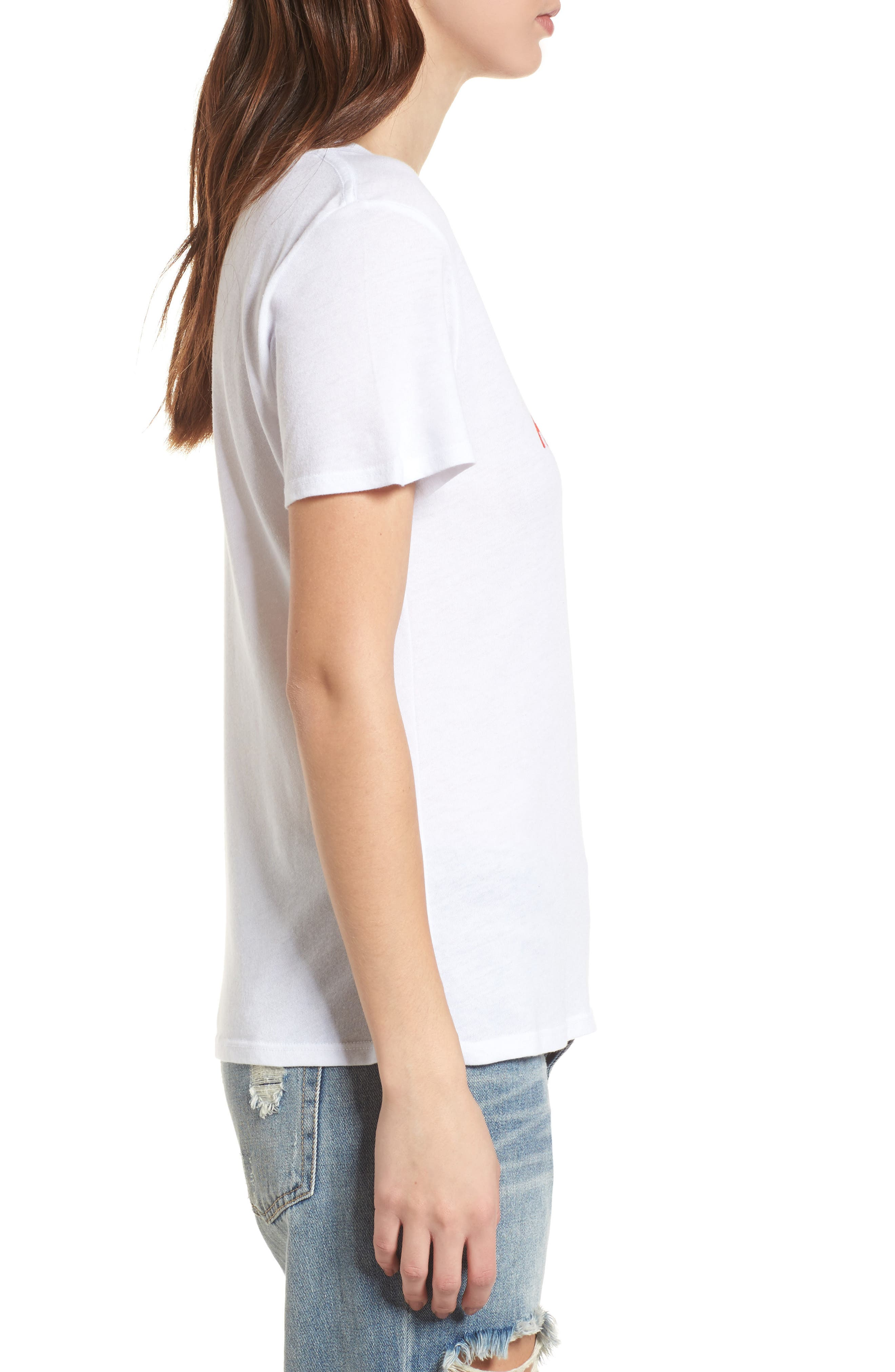 Homies Graphic Tee,                             Alternate thumbnail 3, color,                             White