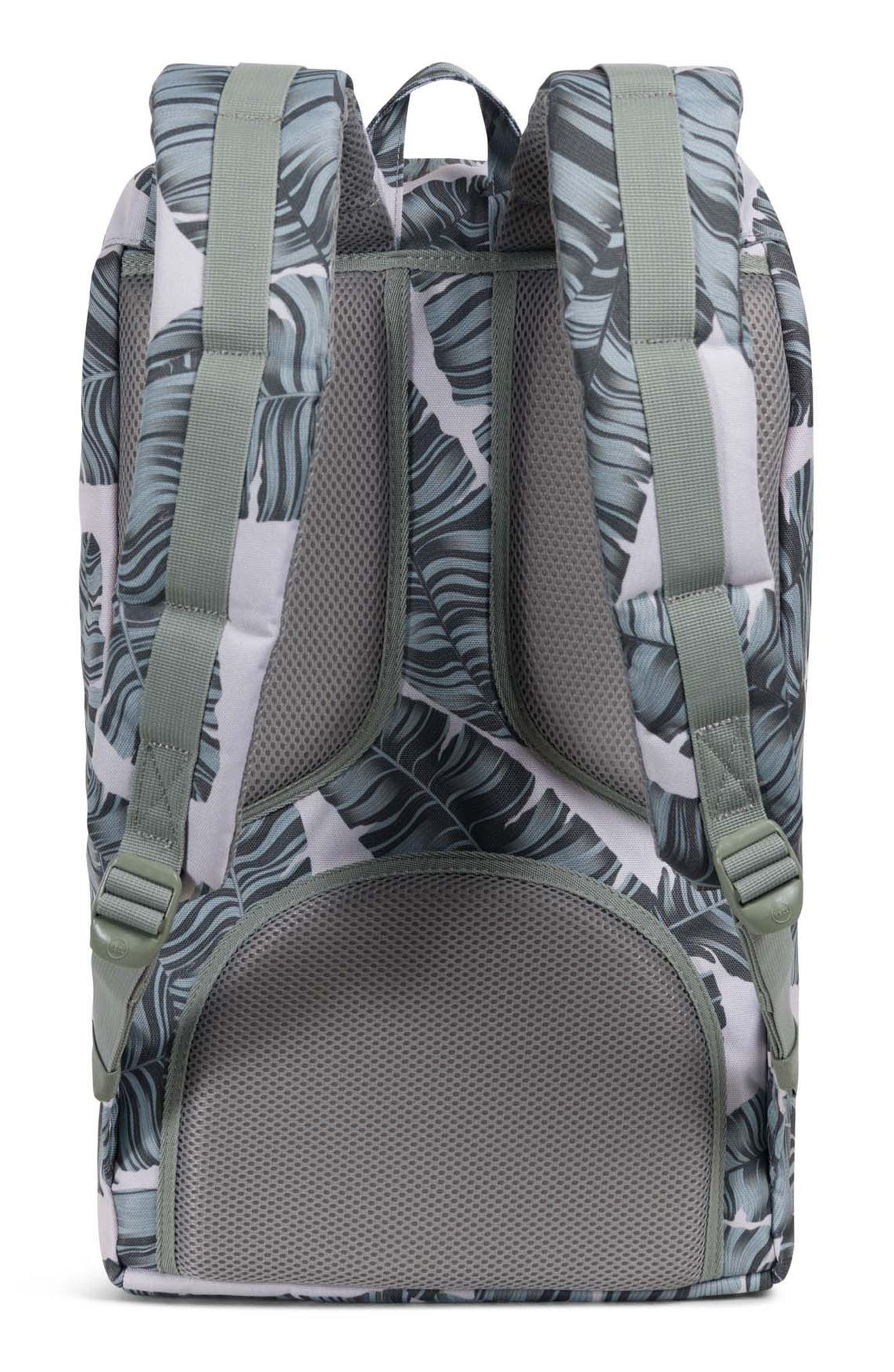 'Little America' Backpack,                             Alternate thumbnail 2, color,                             Silver Birch Palm/ Tan