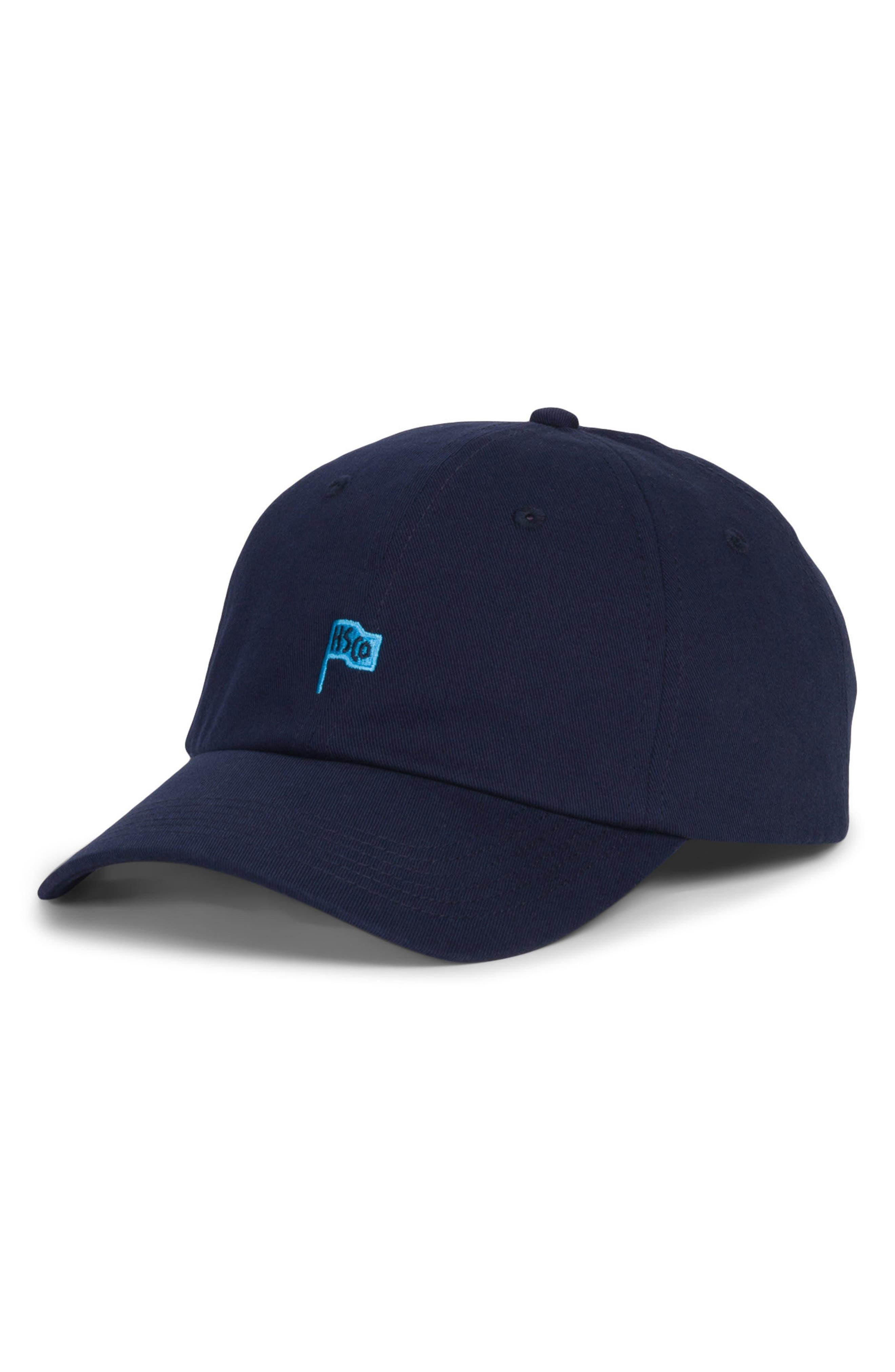 Sylas Baseball Cap,                         Main,                         color, Navy