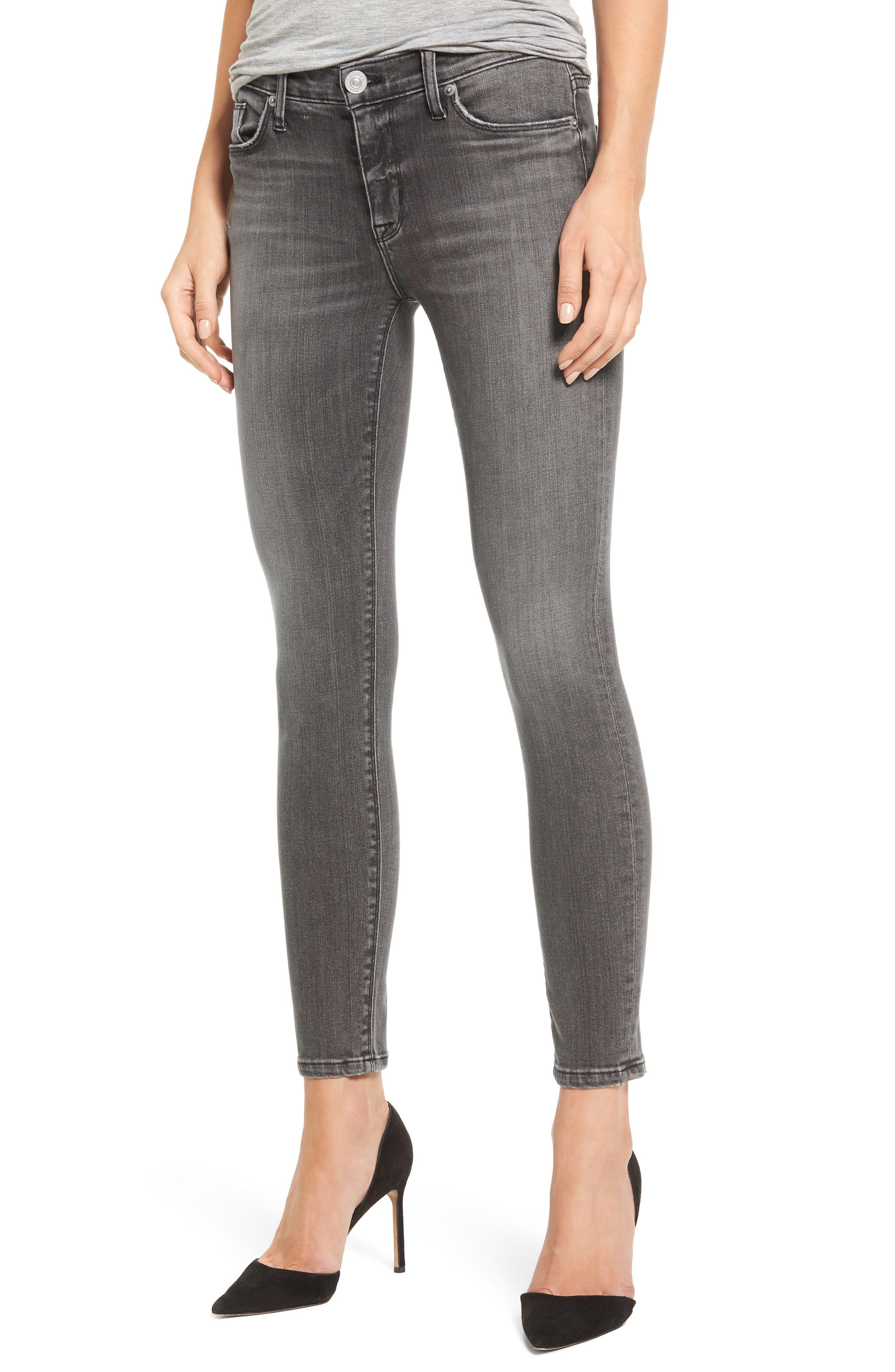 Hudson Jeans Nico Ankle Skinny Jeans (Spectrum)