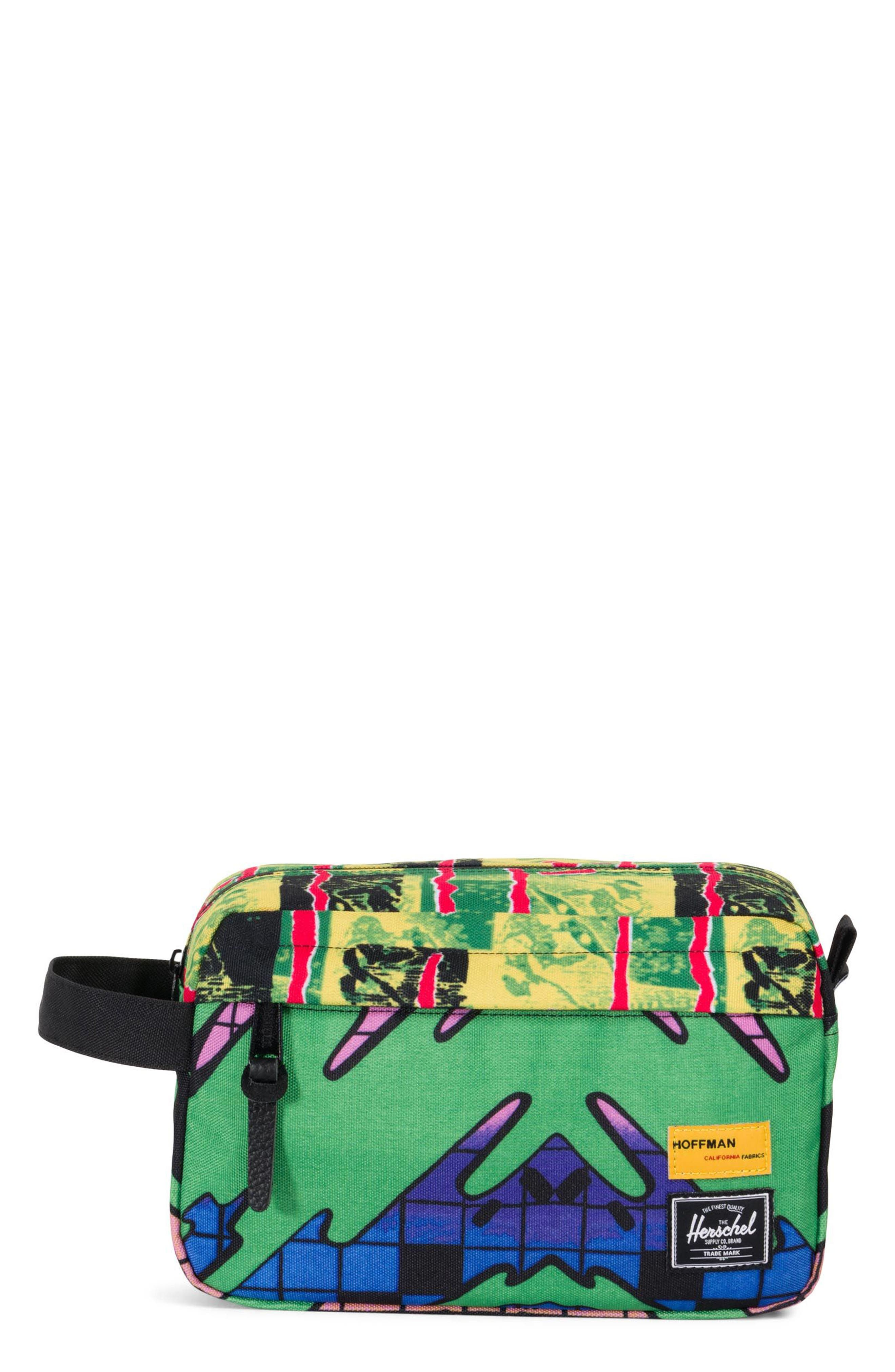 Hoffman Chapter Dopp Kit,                         Main,                         color, Check/ Surf