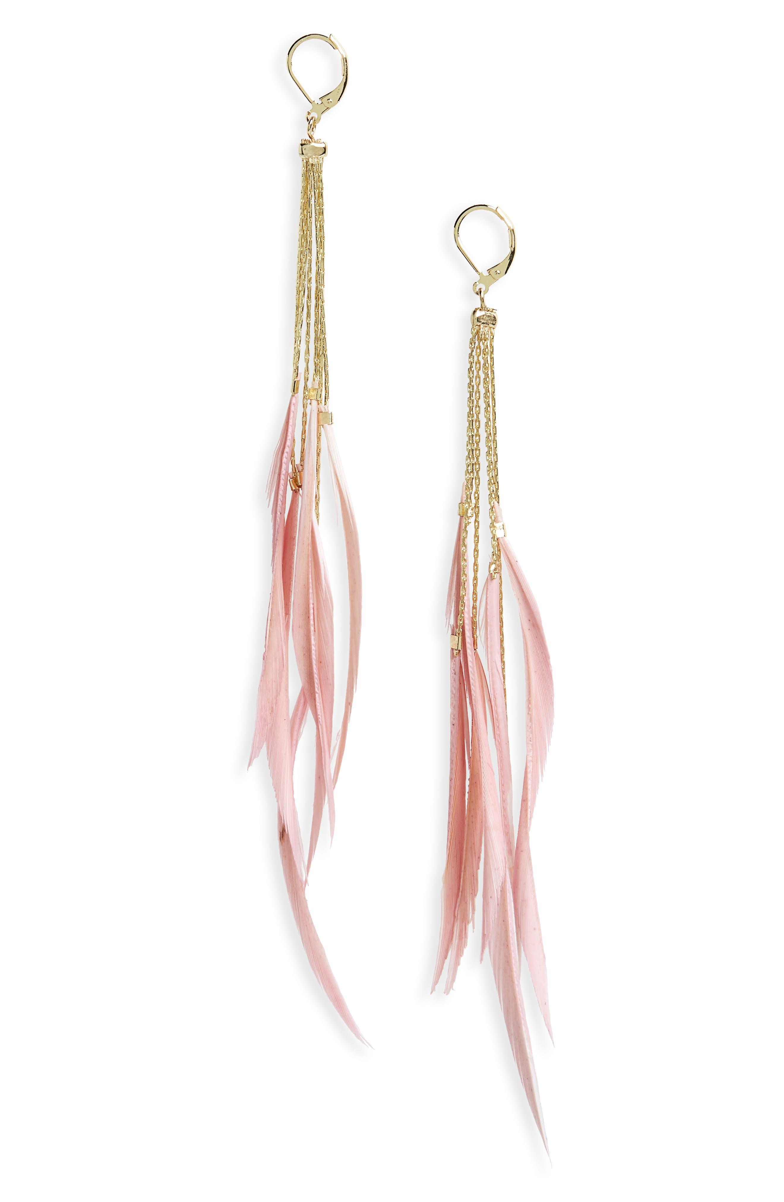 Alternate Image 1 Selected - Shashi Rachel Duster Earrings