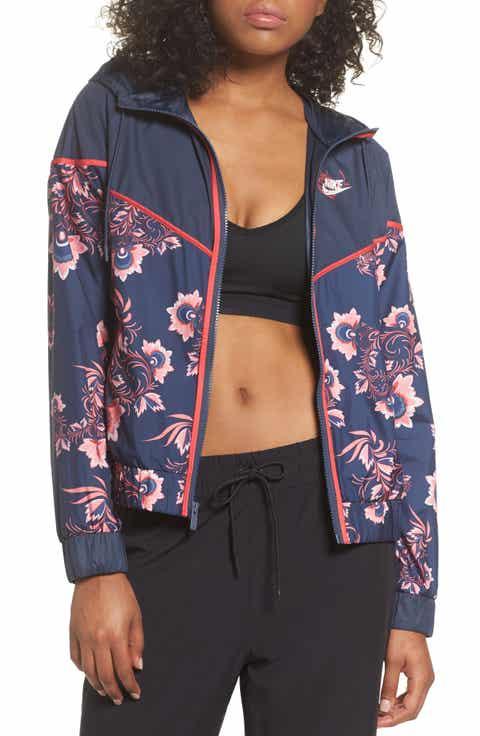 Nike Sportswear Floral Print Track Jacket