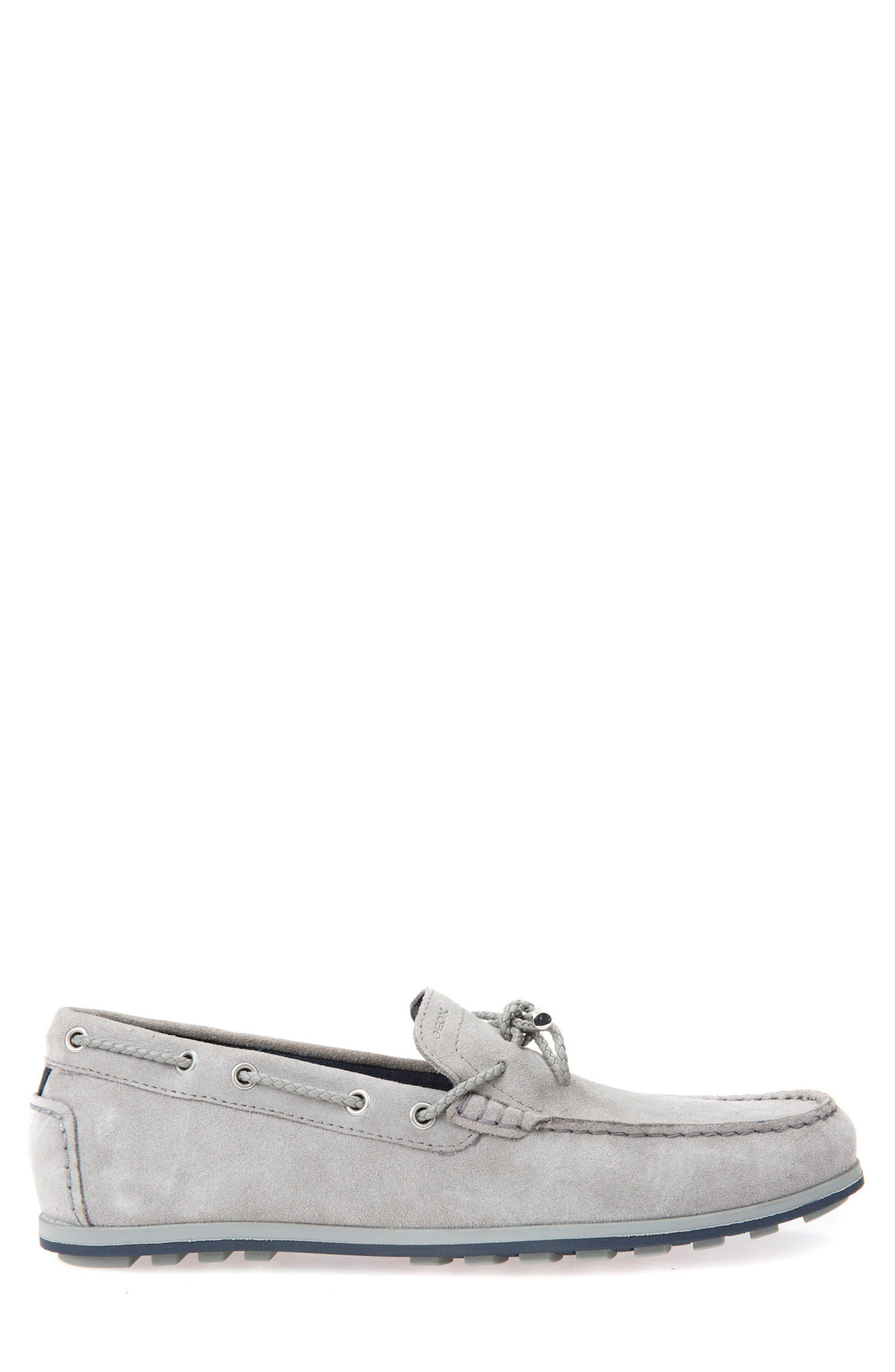 Mirvin 2 Boat Shoe,                             Alternate thumbnail 3, color,                             Stone Suede