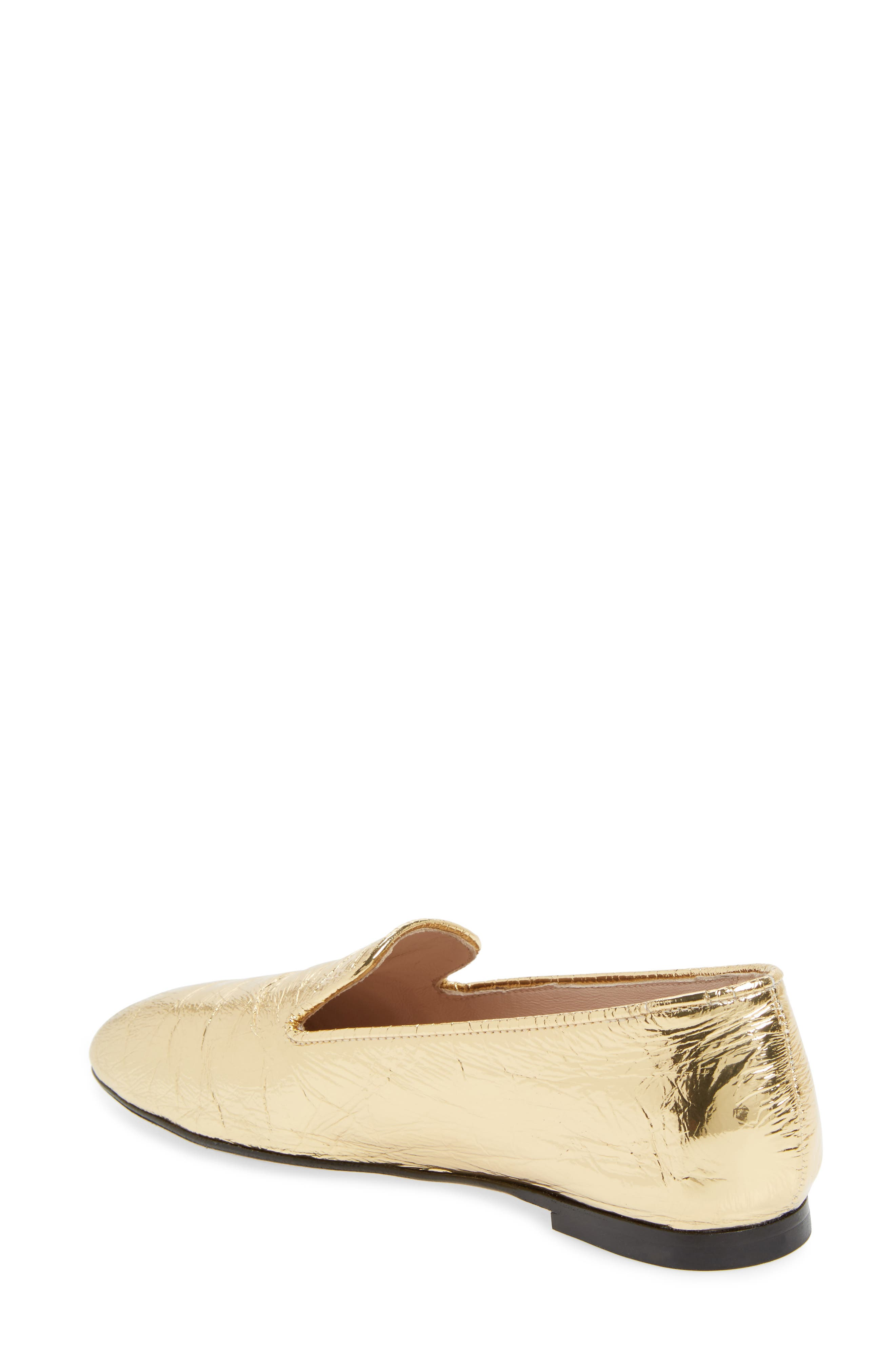 Myguy Venetian Loafer,                             Alternate thumbnail 2, color,                             Gold Look