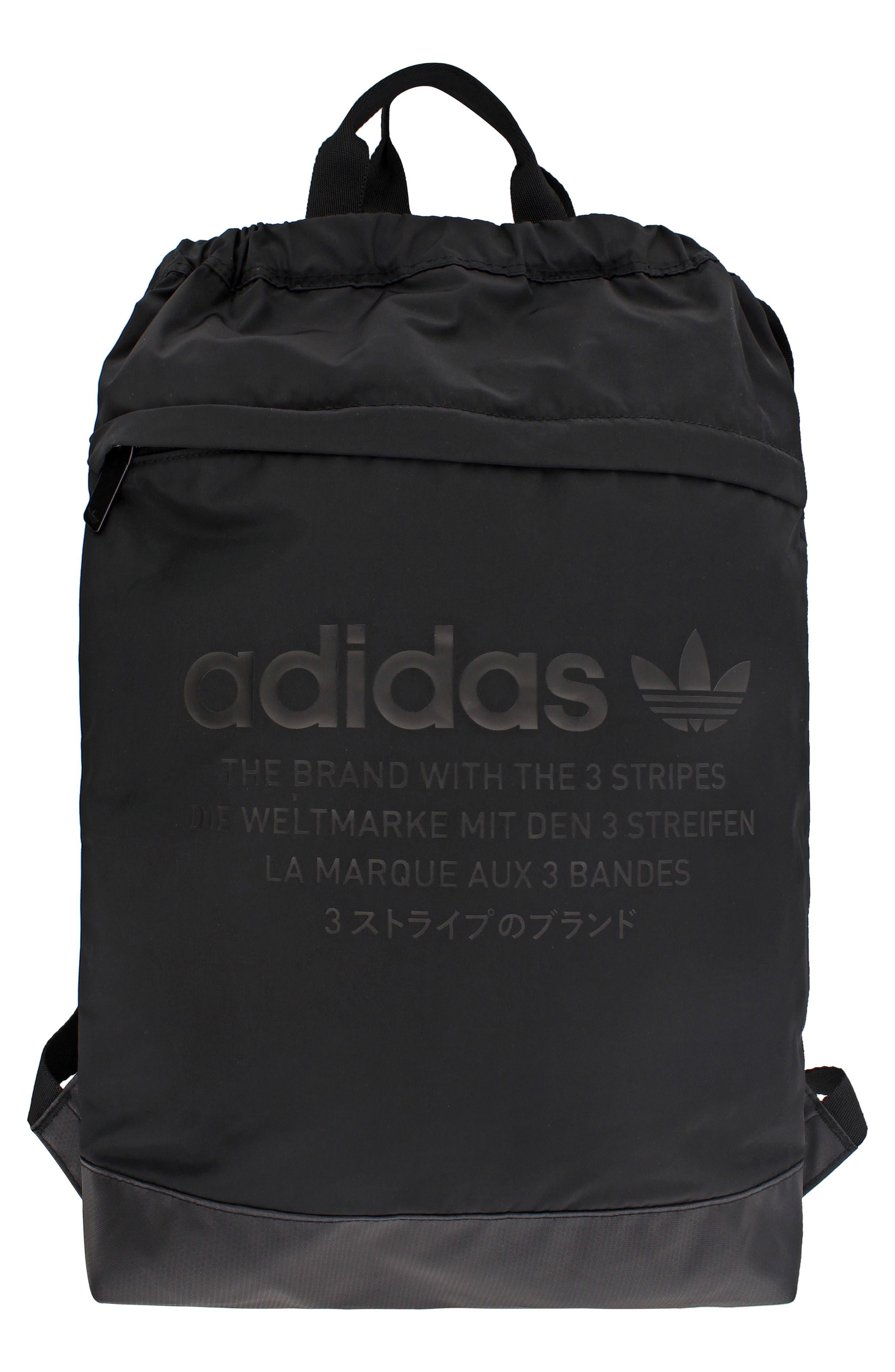 NMD Sack Pack,                         Main,                         color, Black