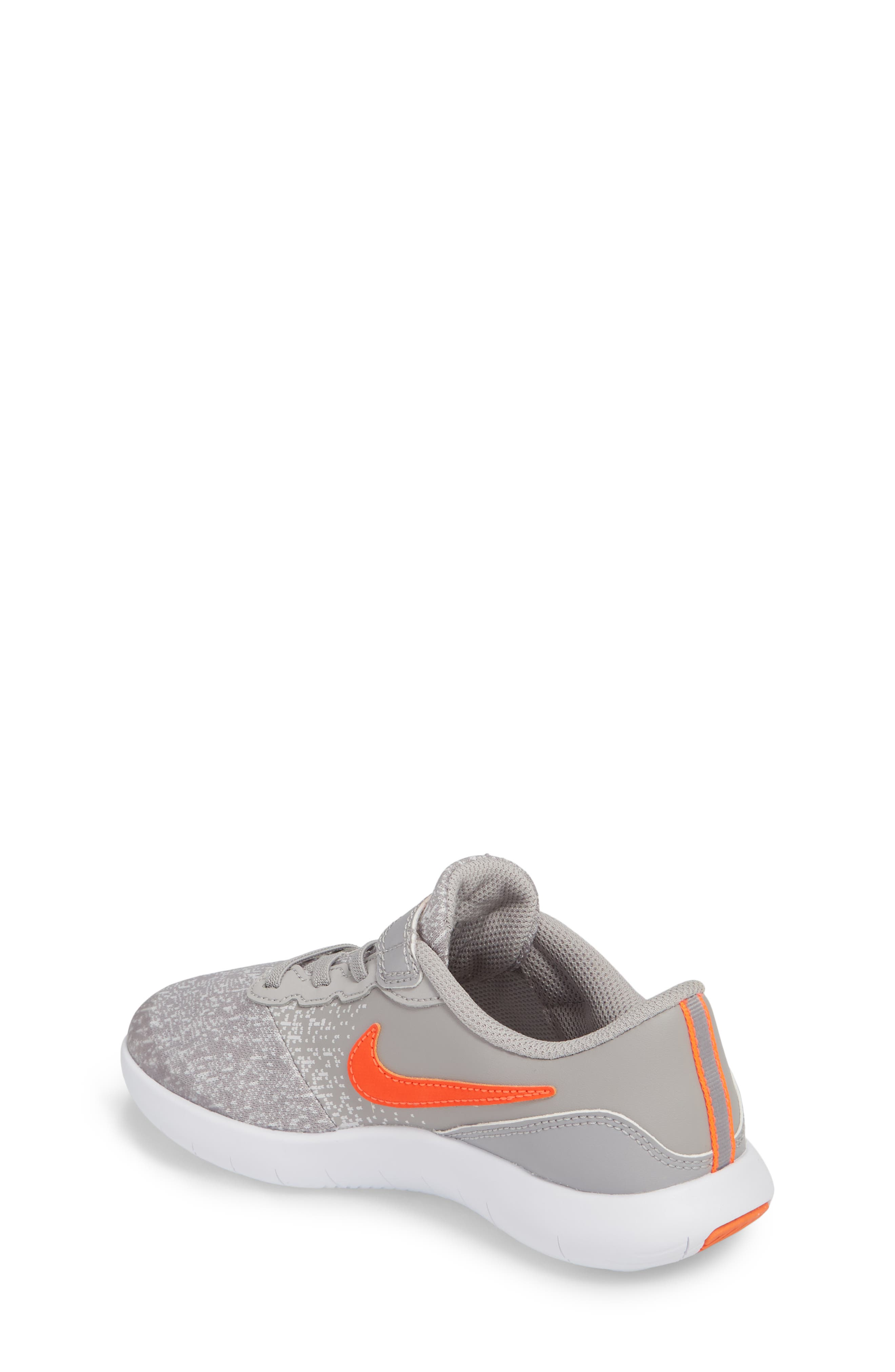 Flex Contact Running Shoe,                             Alternate thumbnail 3, color,                             Atmosphere Grey/ Total Crimson