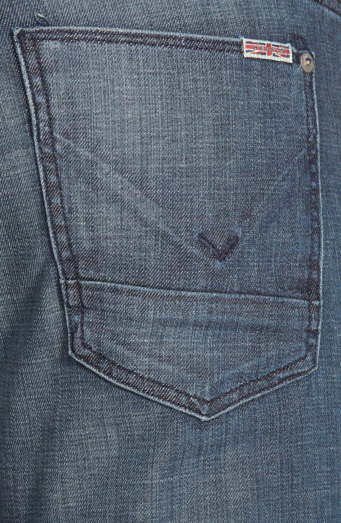 Alternate Image 4  - Hudson Jeans 'Byron' Slim Straight Leg Jeans (Commander)