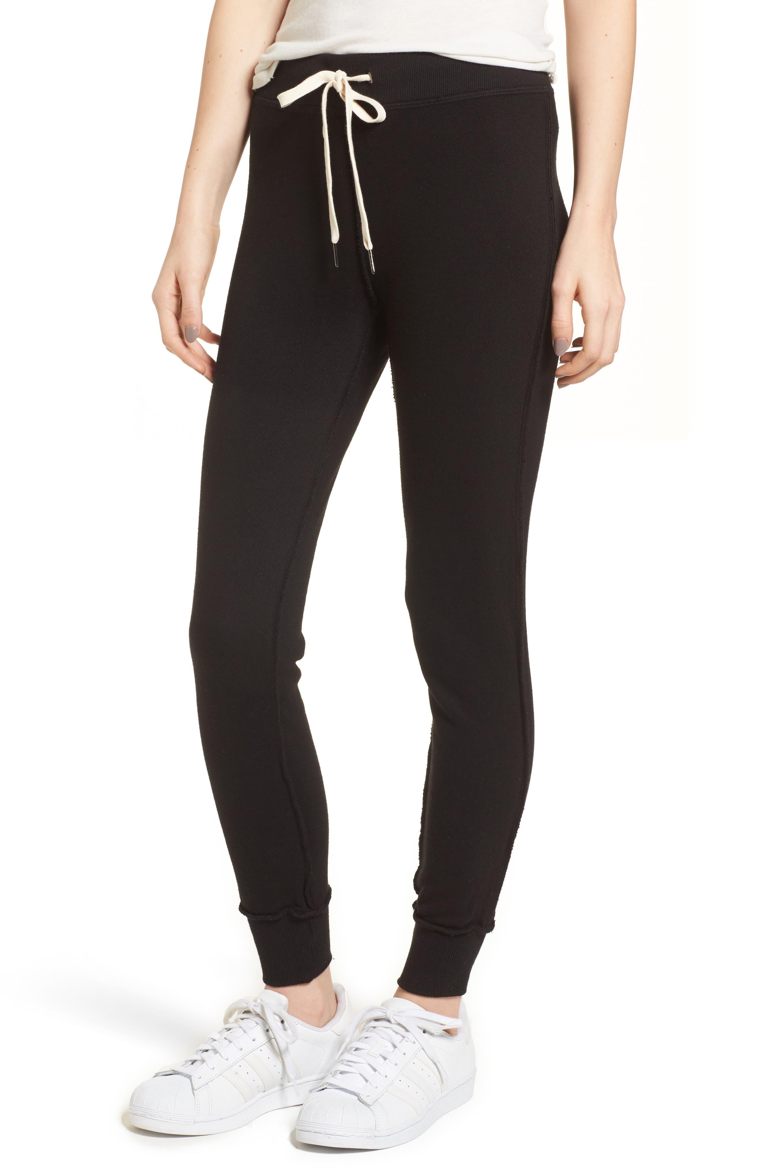 Tracker Jogger Pants,                         Main,                         color, Black Cat