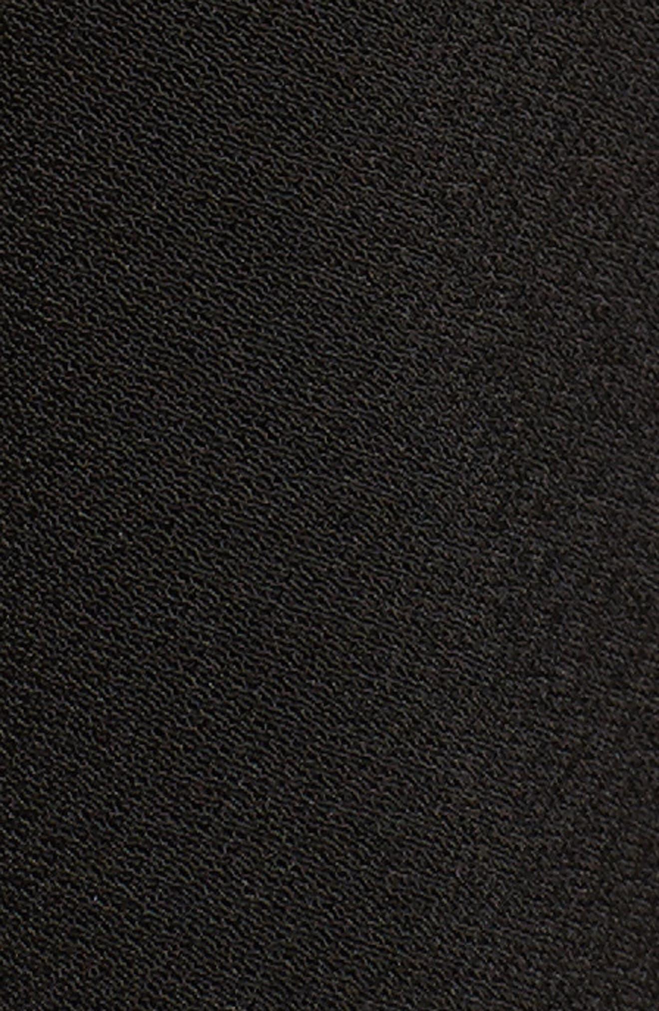 Peplum Tank,                             Alternate thumbnail 5, color,                             Black