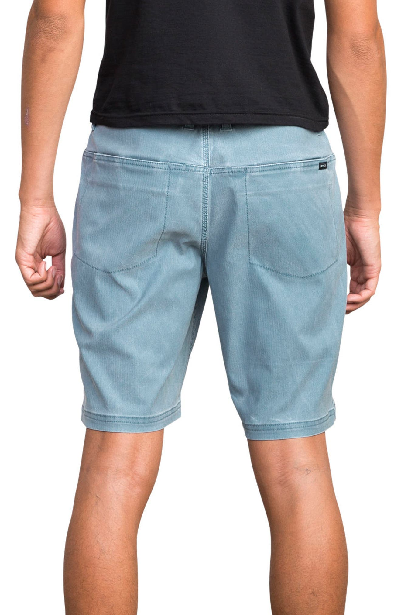 Django Hybrid Shorts,                             Alternate thumbnail 2, color,                             Blue Slate